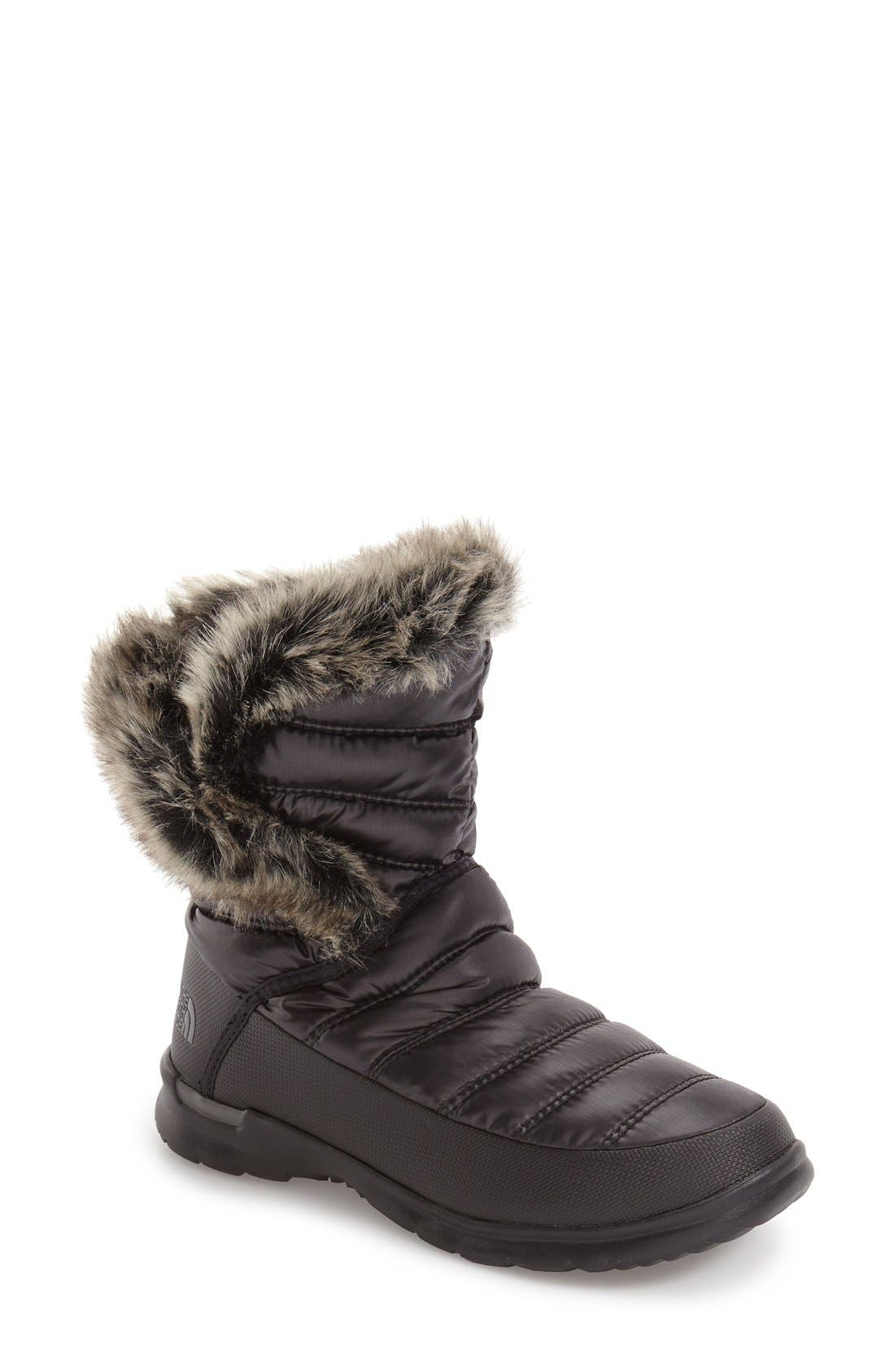 The North Face Microbaffle Waterproof ThermoBall® Insulated Winter Boot (Women)