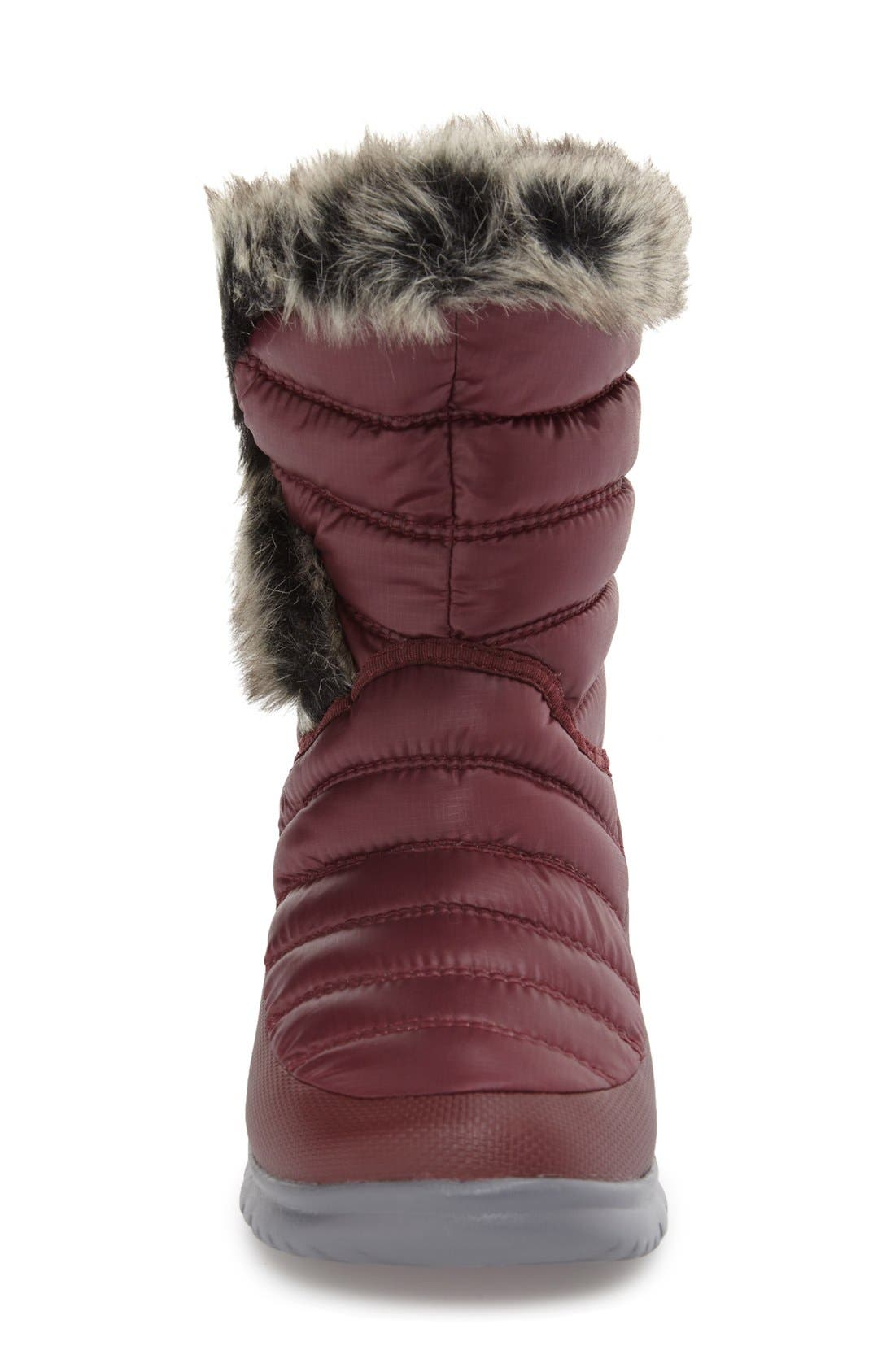 Alternate Image 3  - The North Face Microbaffle Waterproof ThermoBall® Insulated Winter Boot (Women)