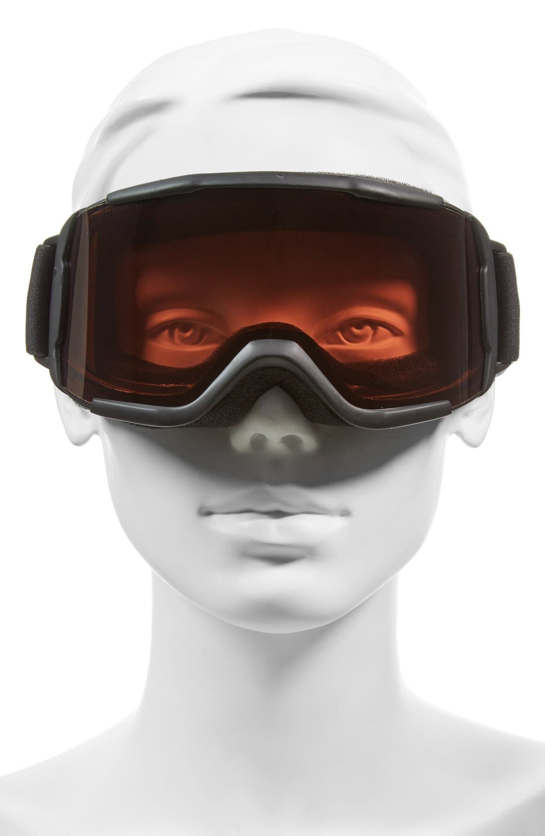 'Daredevil' Snow Goggles,                             Alternate thumbnail 2, color,                             Black/ Rc36