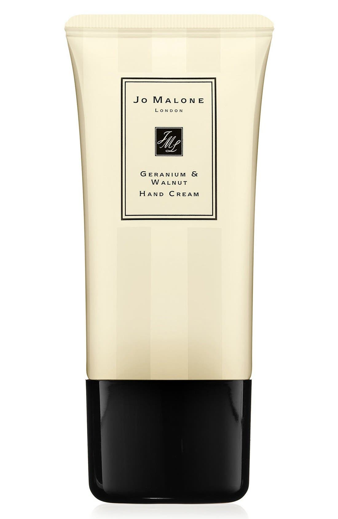 Jo Malone London™ Geranium & Walnut Hand Cream
