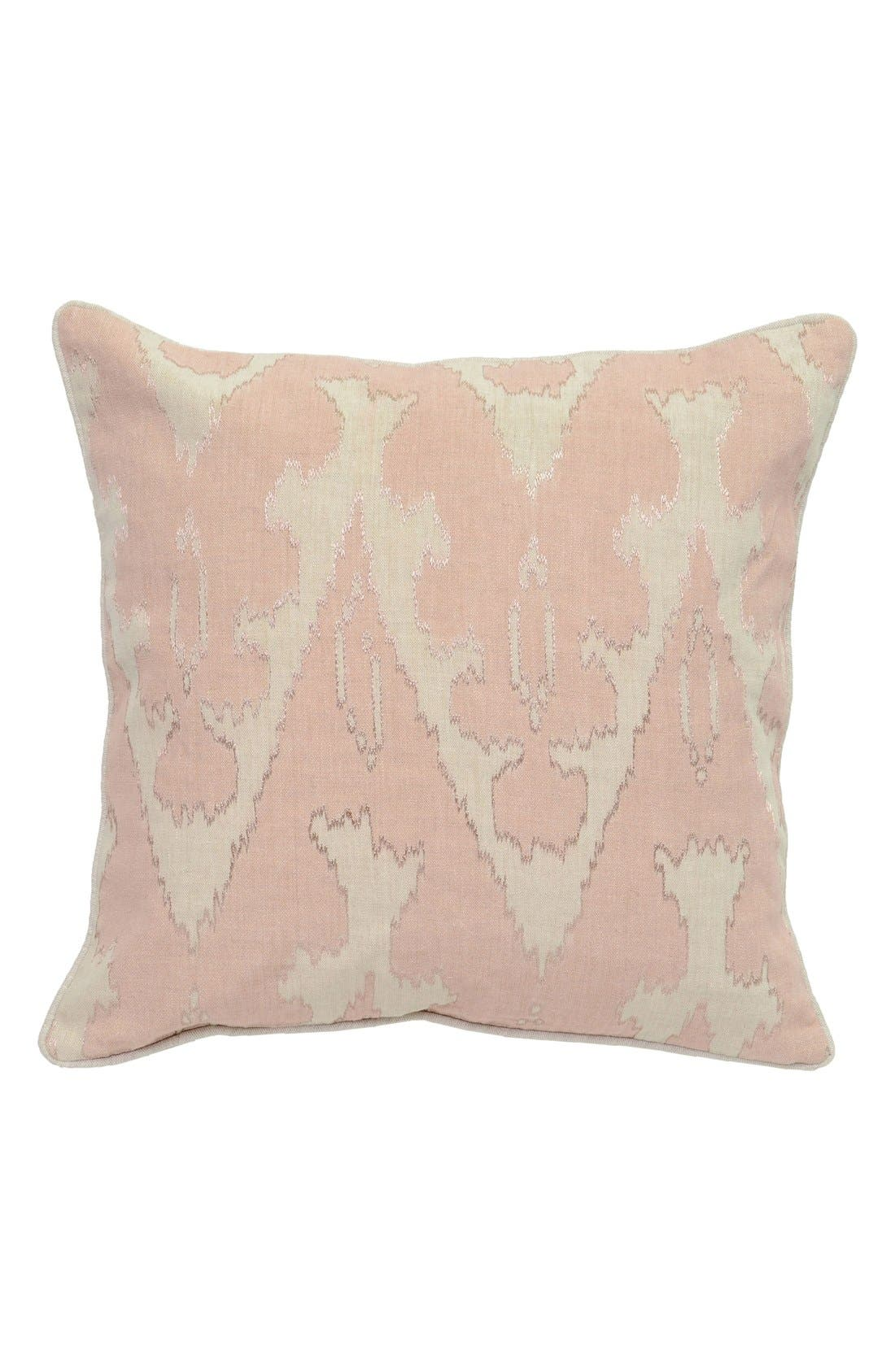 Fae Accent Pillow,                         Main,                         color, Beige/ Blush