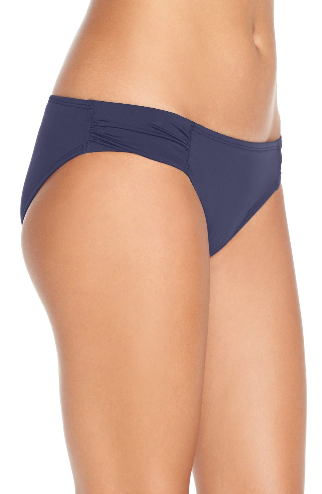 Alternate Image 3  - Tommy Bahama Side Shirred Hipster Bikini Bottoms