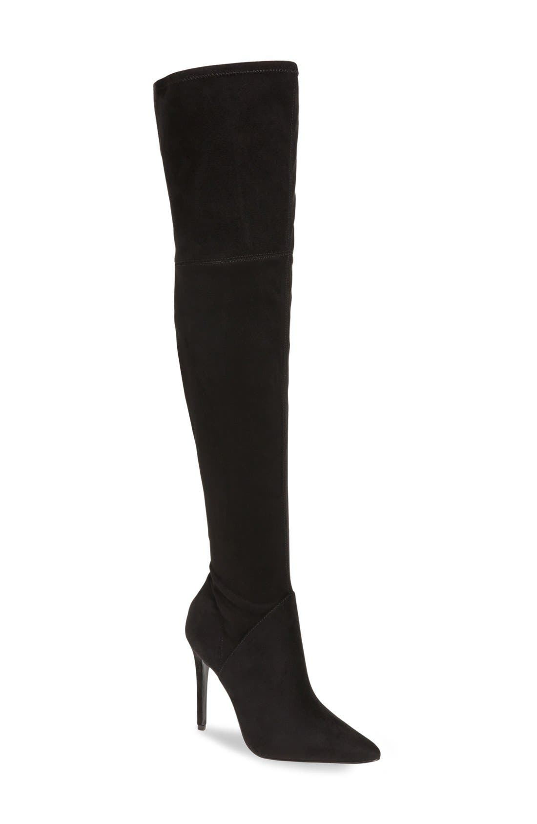 KENDALL + KYLIE Kayla Stretch Over the Knee Boot (Women)
