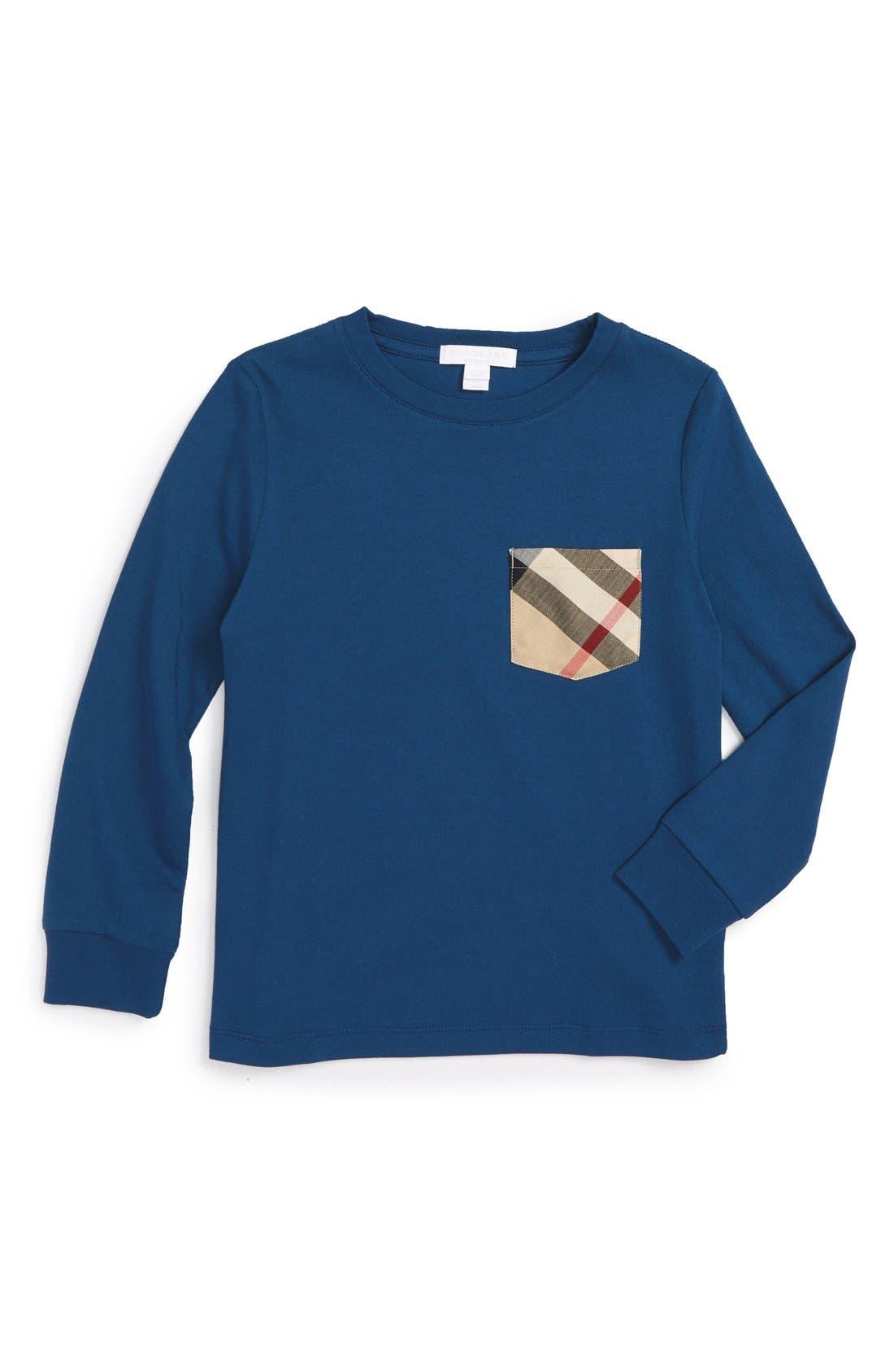 Burberry Check Pocket T-Shirt (Little Boys & Big Boys)