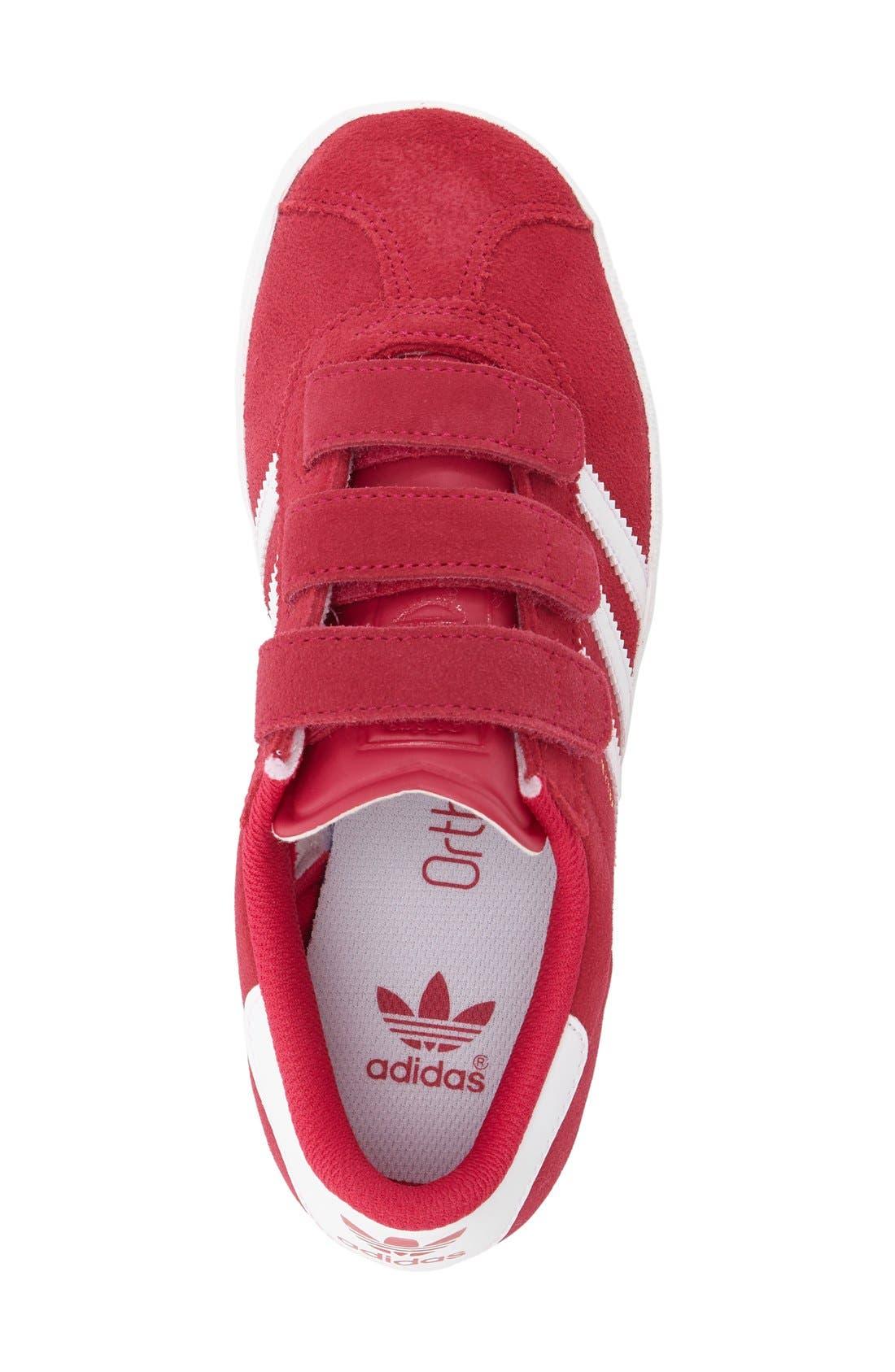 Gazelle Sneaker,                             Alternate thumbnail 3, color,                             Pink