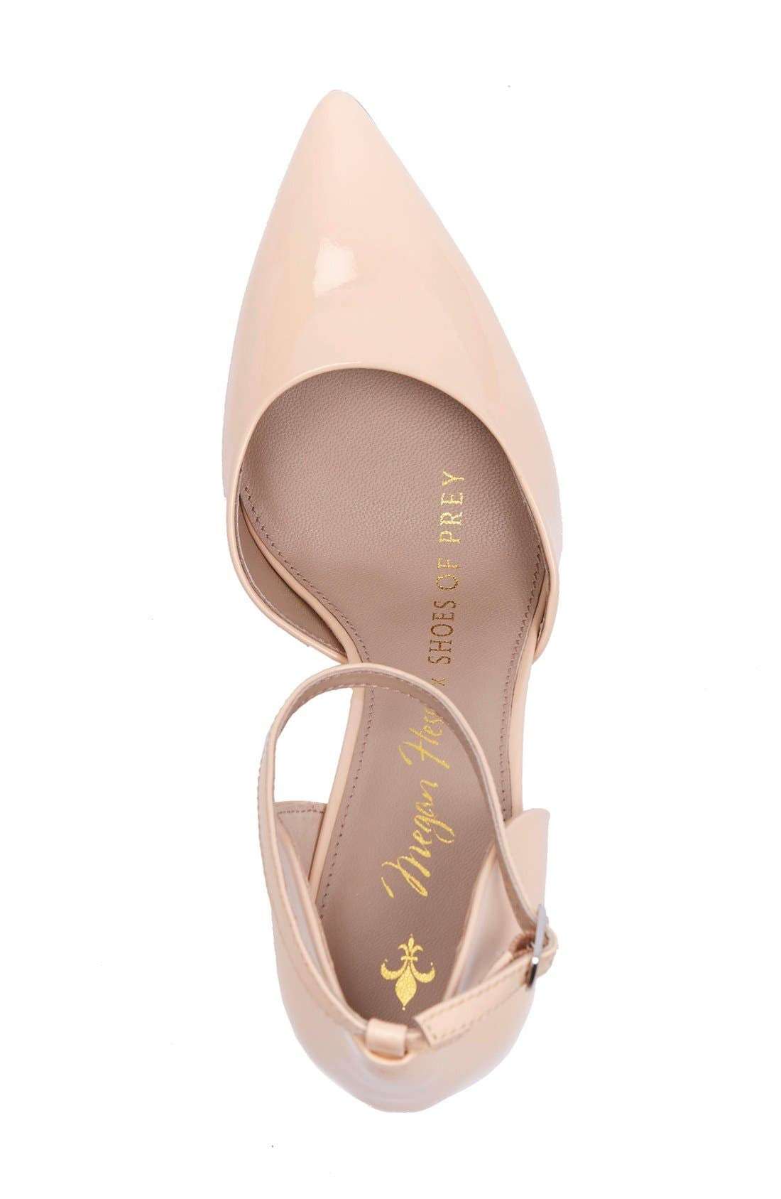Alternate Image 3  - Shoes of Prey x Megan Hess Fleur-de-lis Collection Pump (Women)