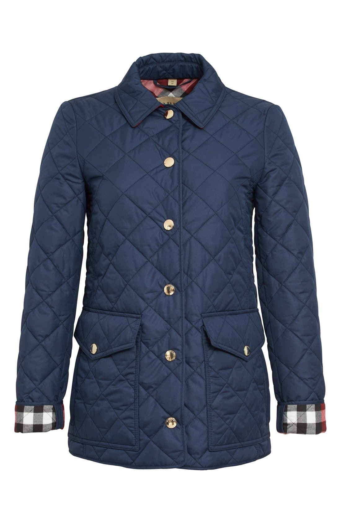 Alternate Image 4  - Burberry Westbridge Quilted Jacket