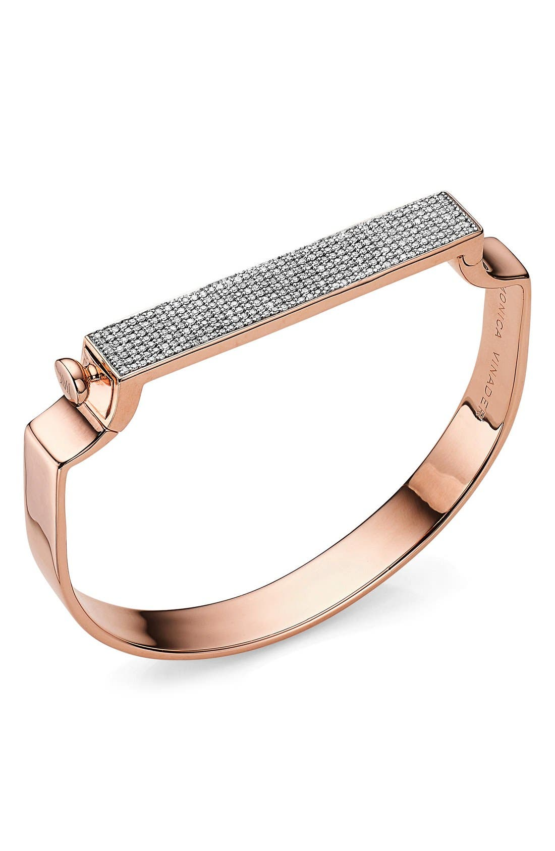 MONICA VINADER Signature Diamond Bangle