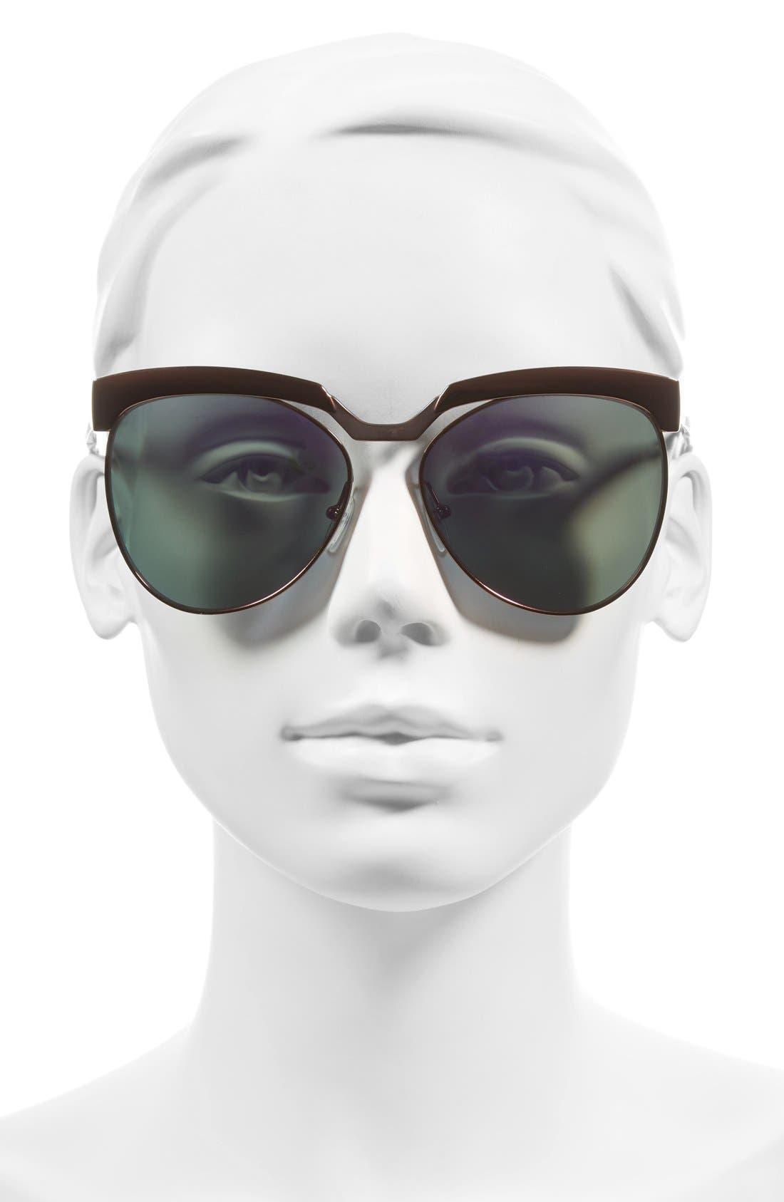 Alternate Image 2  - MCM 58mm Sunglasses