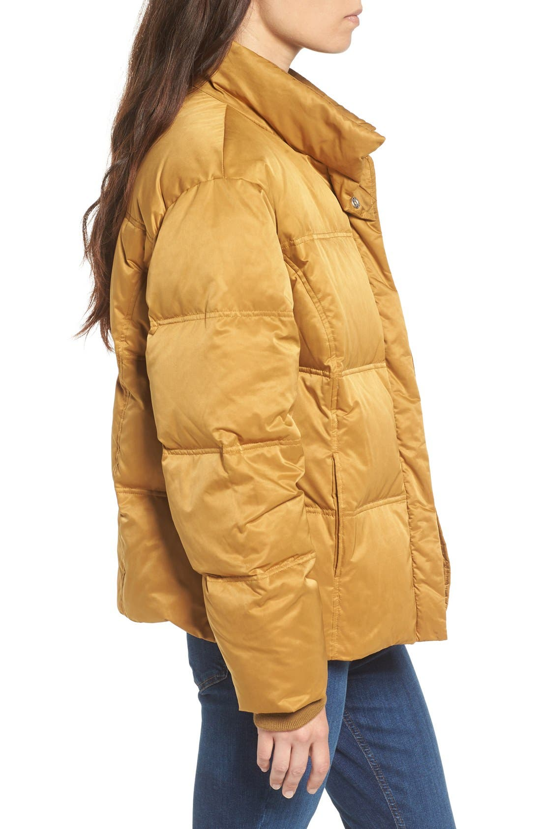 Alternate Image 4  - Topshop Emily Puffer Jacket