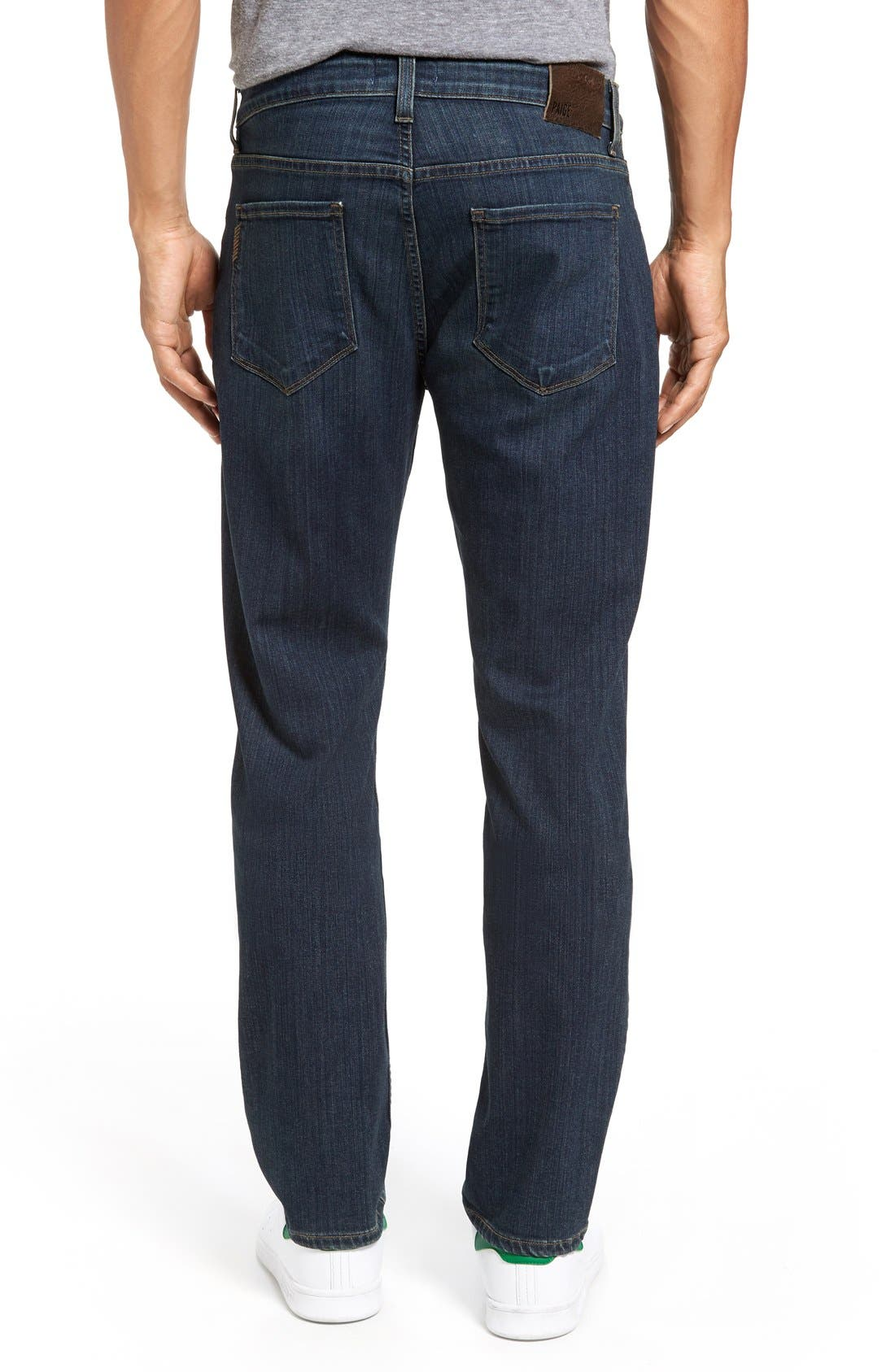 Alternate Image 2  - PAIGE Transcend - Federal Slim Straight Leg Jeans (Rand)