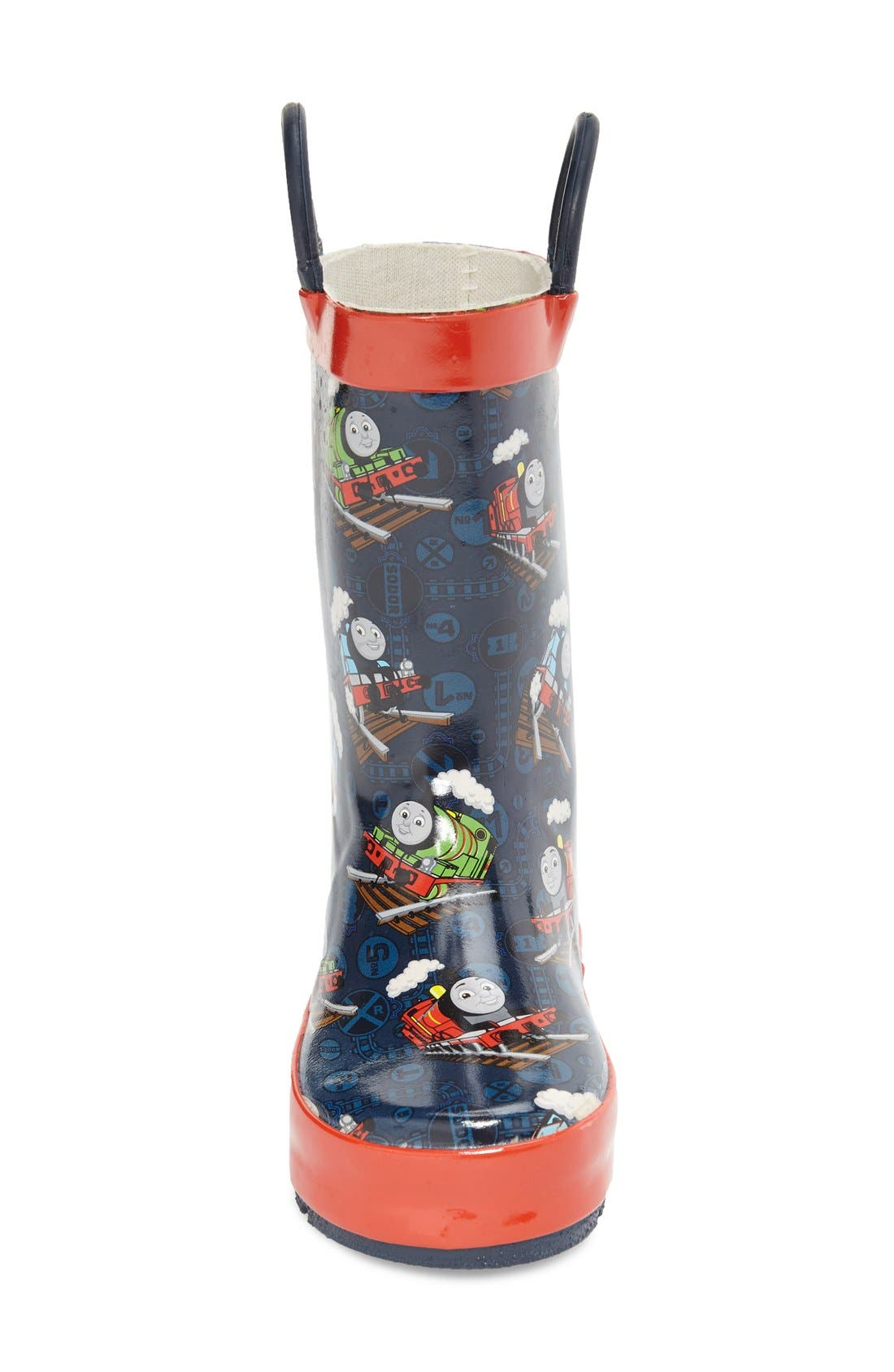 Thomas & Friends<sup>®</sup> Rain Boot,                             Alternate thumbnail 3, color,                             Navy