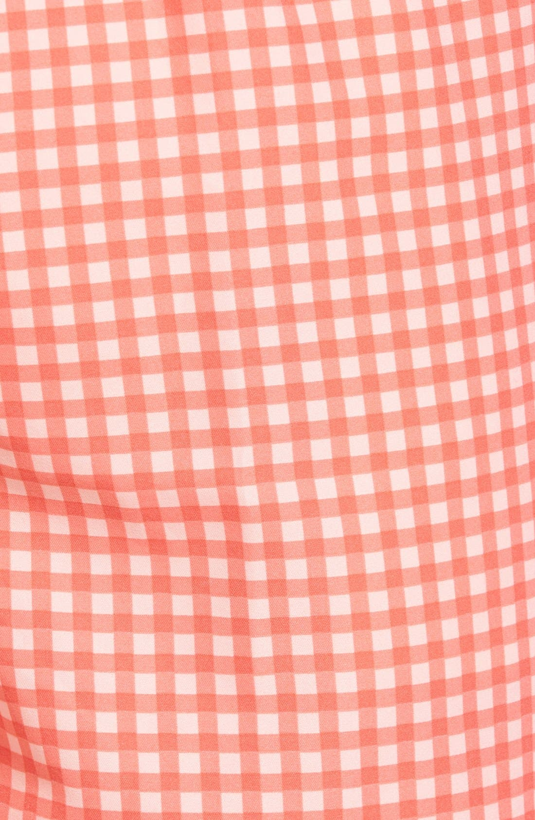 Alternate Image 5  - Peter Millar Gingham Swim Trunks