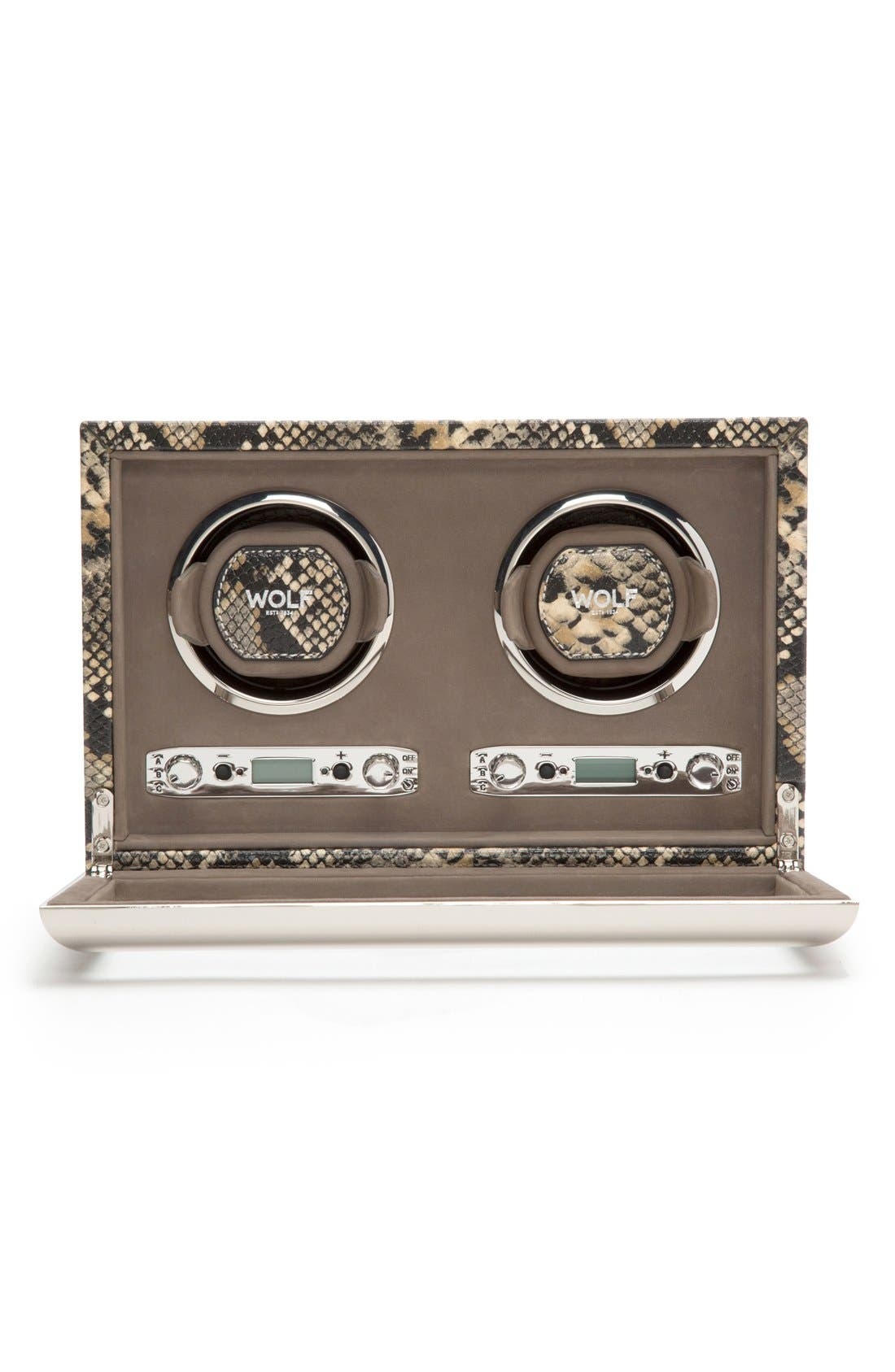 Alternate Image 4  - Wolf Exotic Double Watch Winder