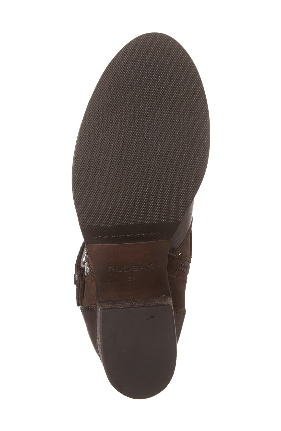 Balady Boot,                             Alternate thumbnail 4, color,                             Brown Leather