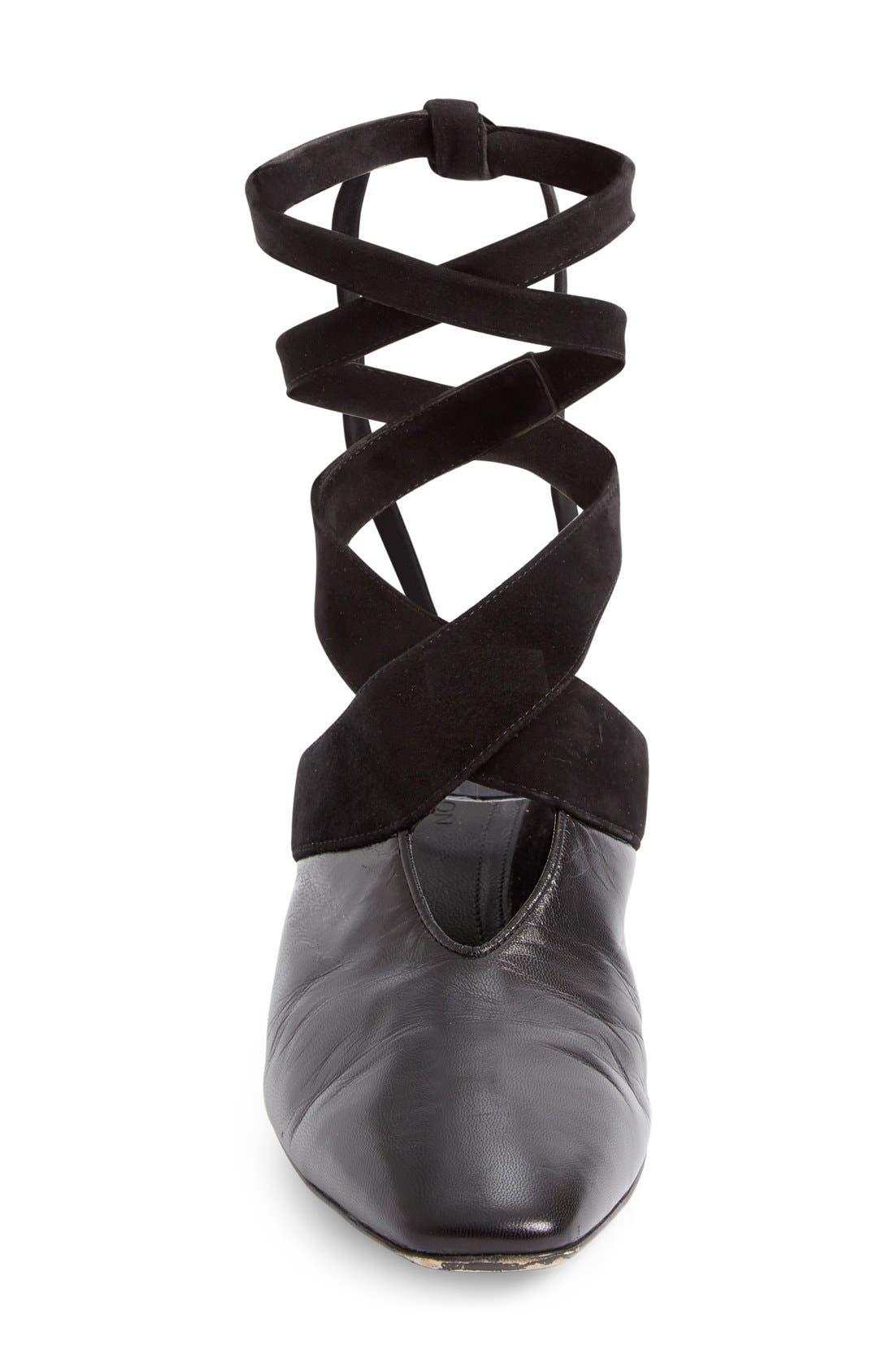 Alternate Image 4  - J.W.ANDERSON Cylinder Heel Ballet Slide (Women)