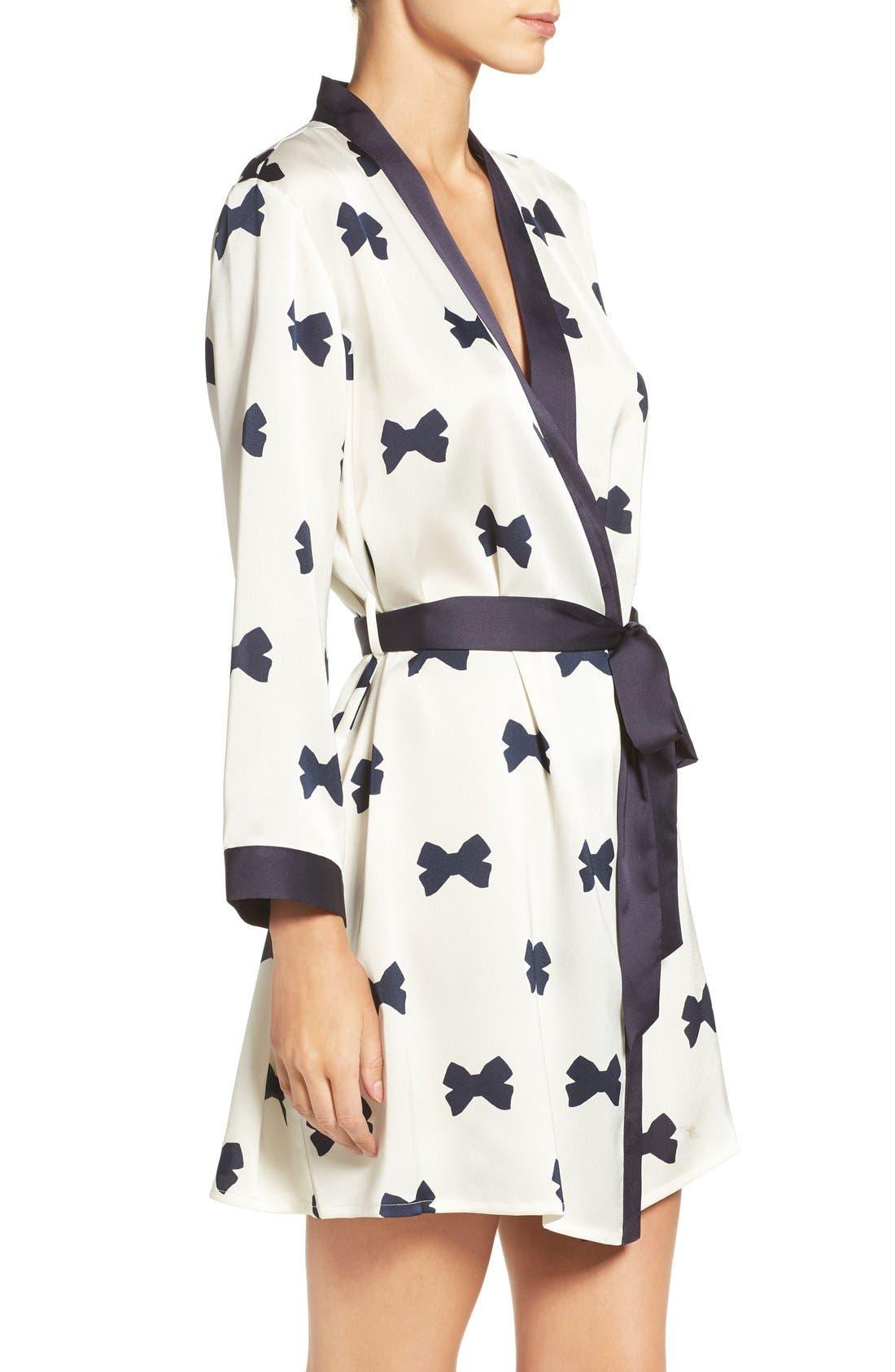 Alternate Image 3  - kate spade new york bow print robe