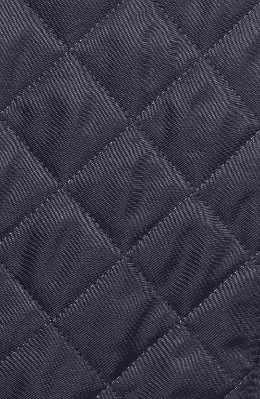 Ashurst Quilted Jacket,                             Alternate thumbnail 3, color,                             Navy