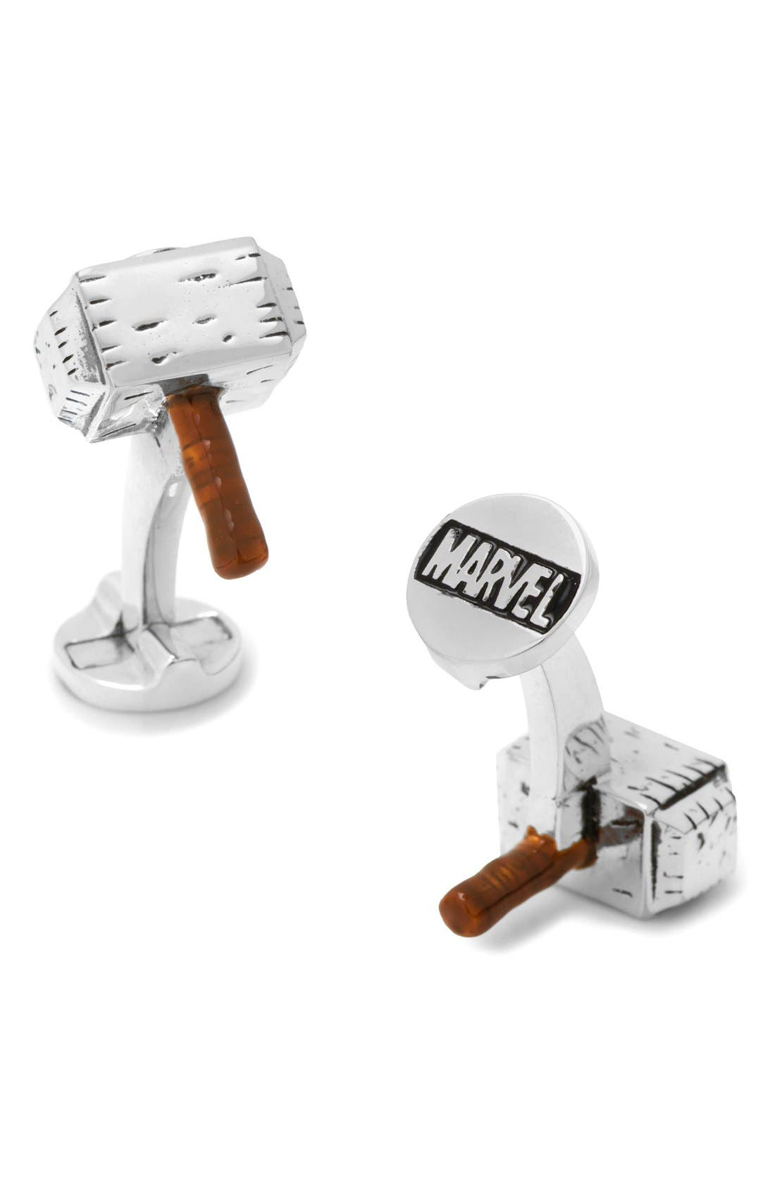 Cufflinks, Inc. Marvel Thor Hammer Cuff Links
