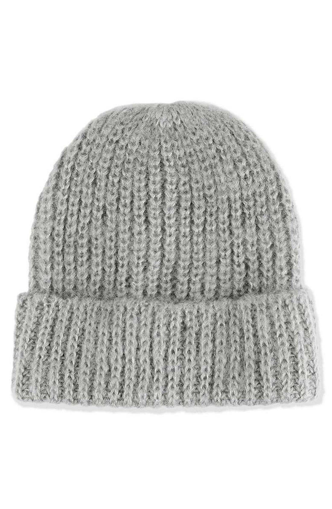 Alternate Image 1 Selected - Topshop Knit Beanie