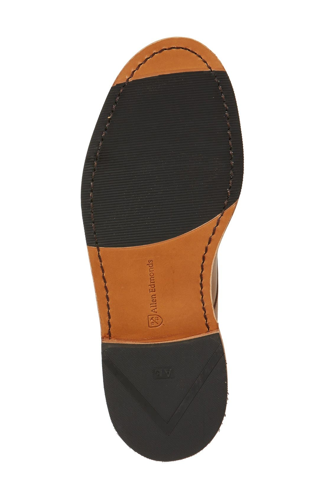 Academy Plain Toe Derby,                             Alternate thumbnail 4, color,                             Natural Leather