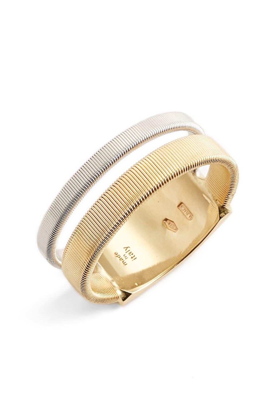 Masai Two Strand Coil Ring,                             Main thumbnail 1, color,                             Yellow Gold