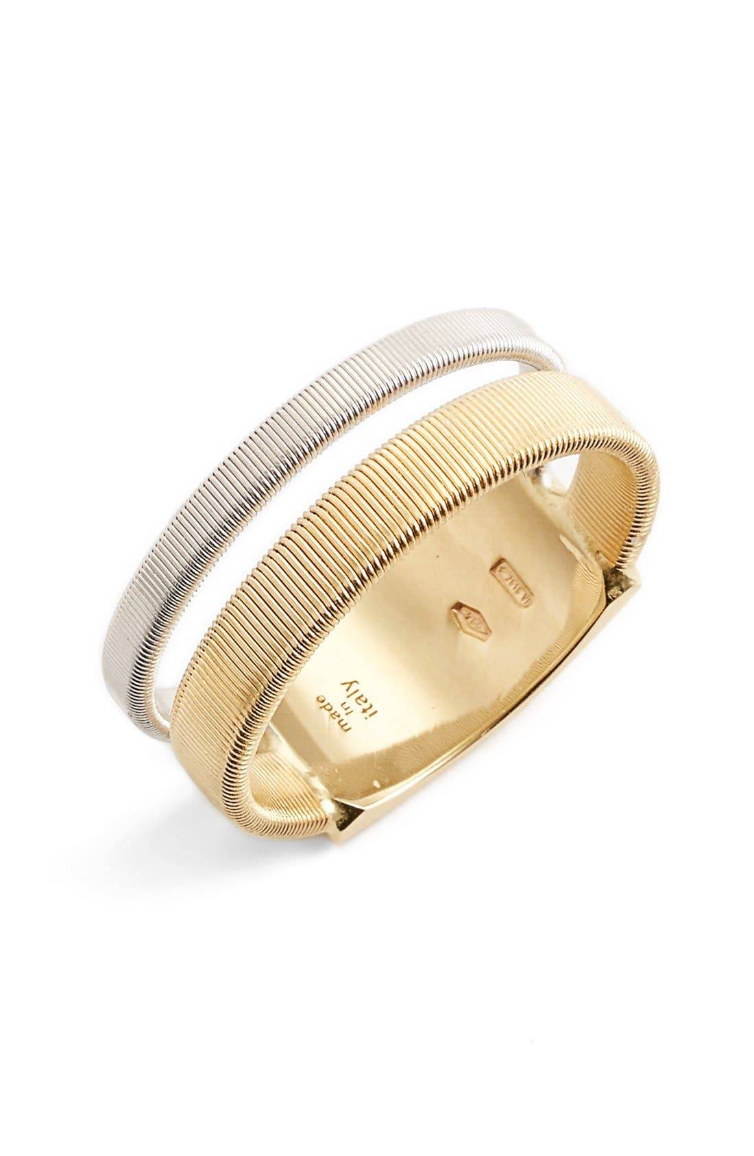 Masai Two Strand Coil Ring,                         Main,                         color, Yellow Gold
