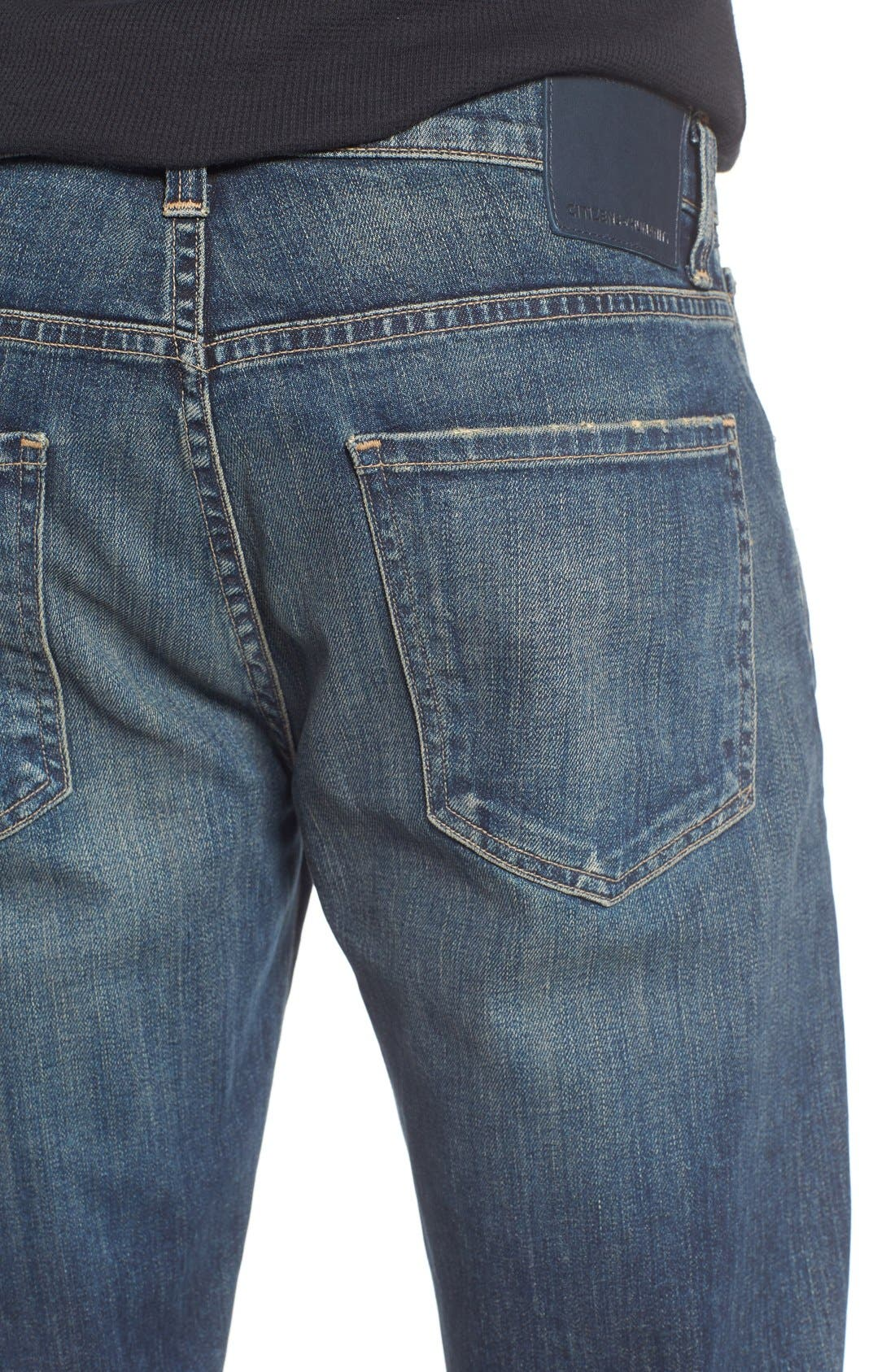 Alternate Image 4  - Citizens of Humanity Gage Slim Straight Leg Jeans (Dunes)