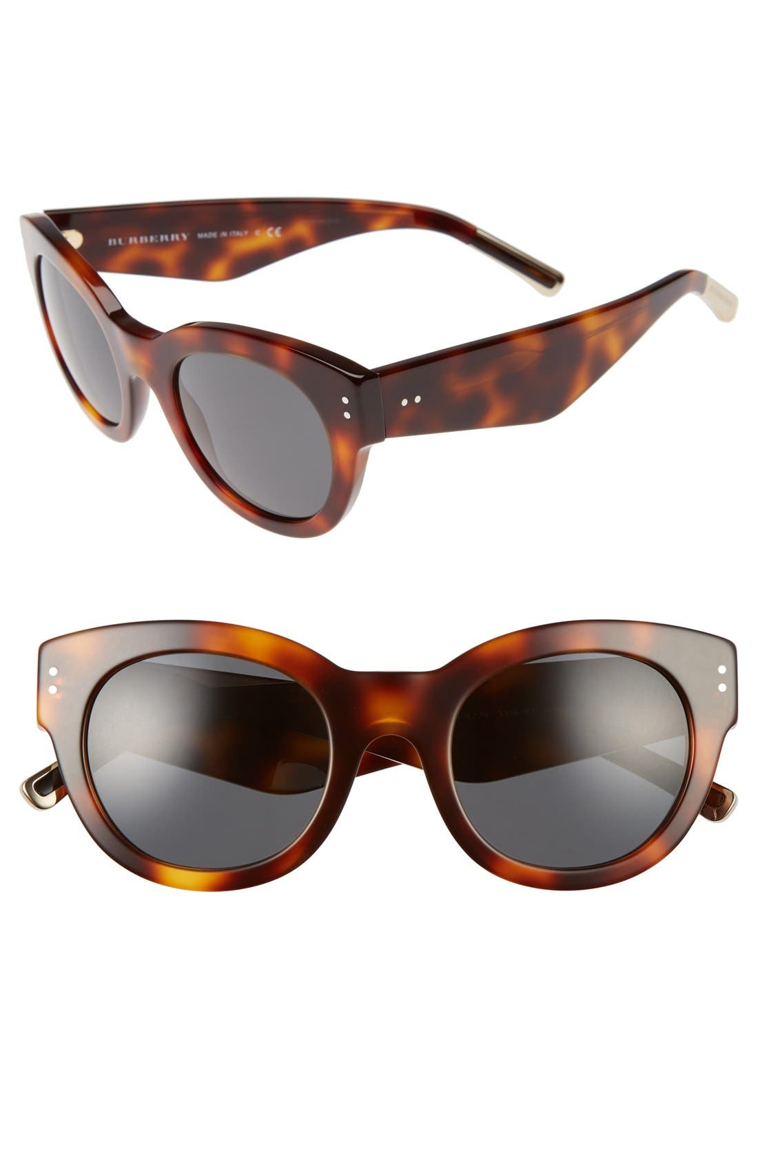 BURBERRY 49mm Retro Sunglasses