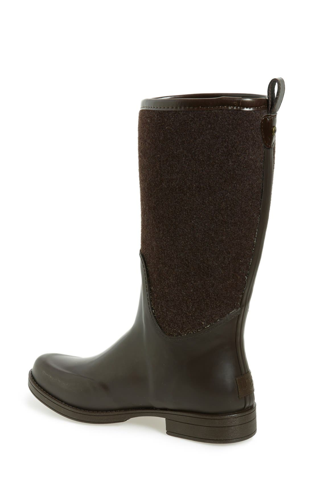 Alternate Image 2  - UGG® Reignfall Waterproof Rain Boot (Women)