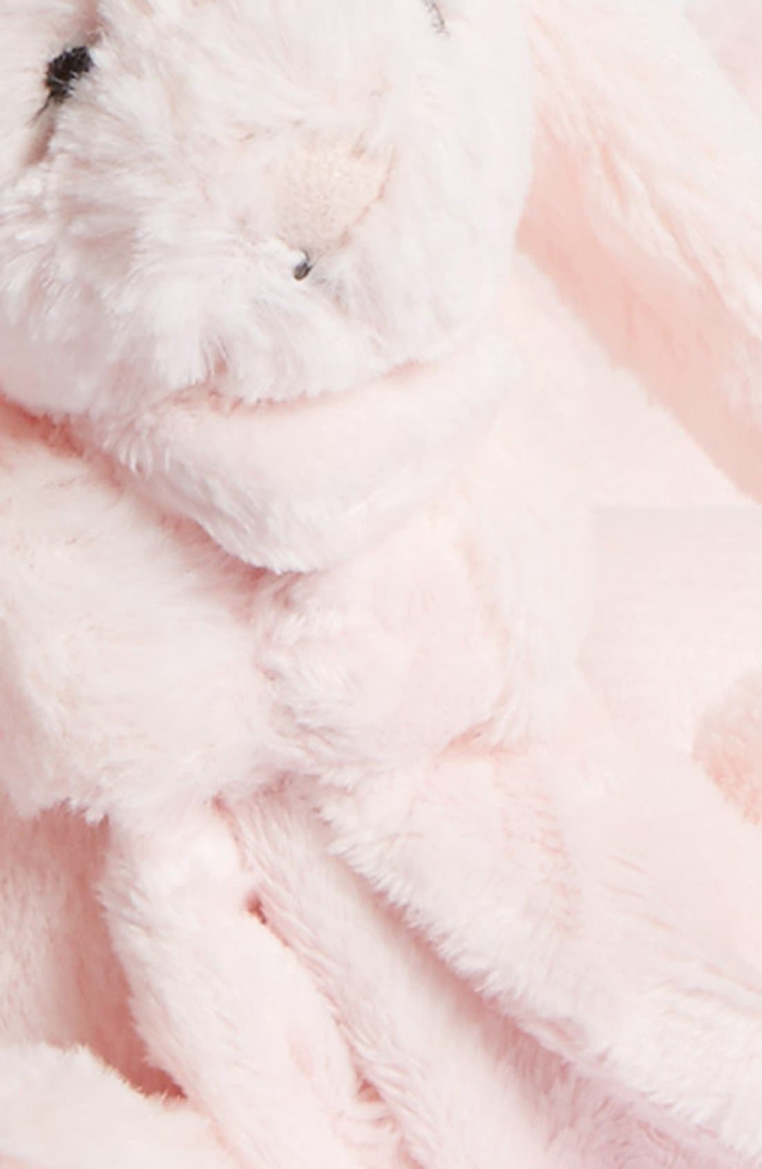 'Bunny Soother' Blanket,                             Alternate thumbnail 2, color,                             Pink