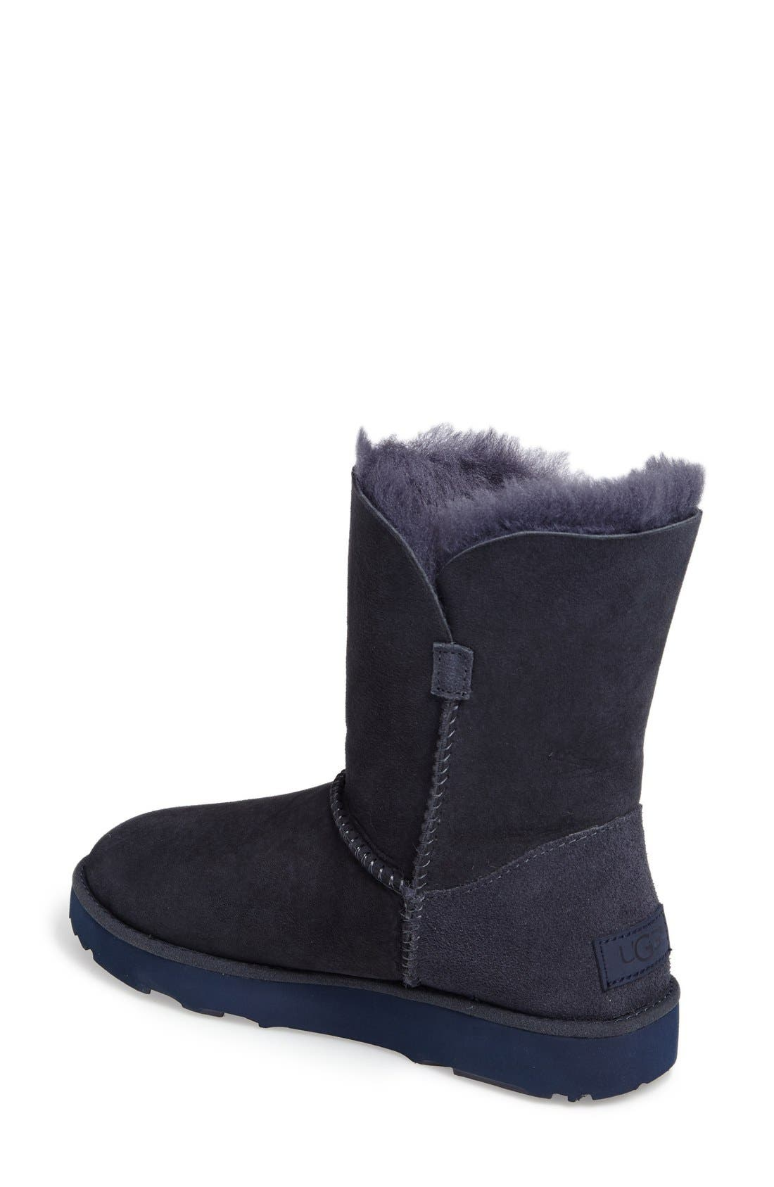 Alternate Image 2  - UGG® Classic Cuff Short Boot (Women)