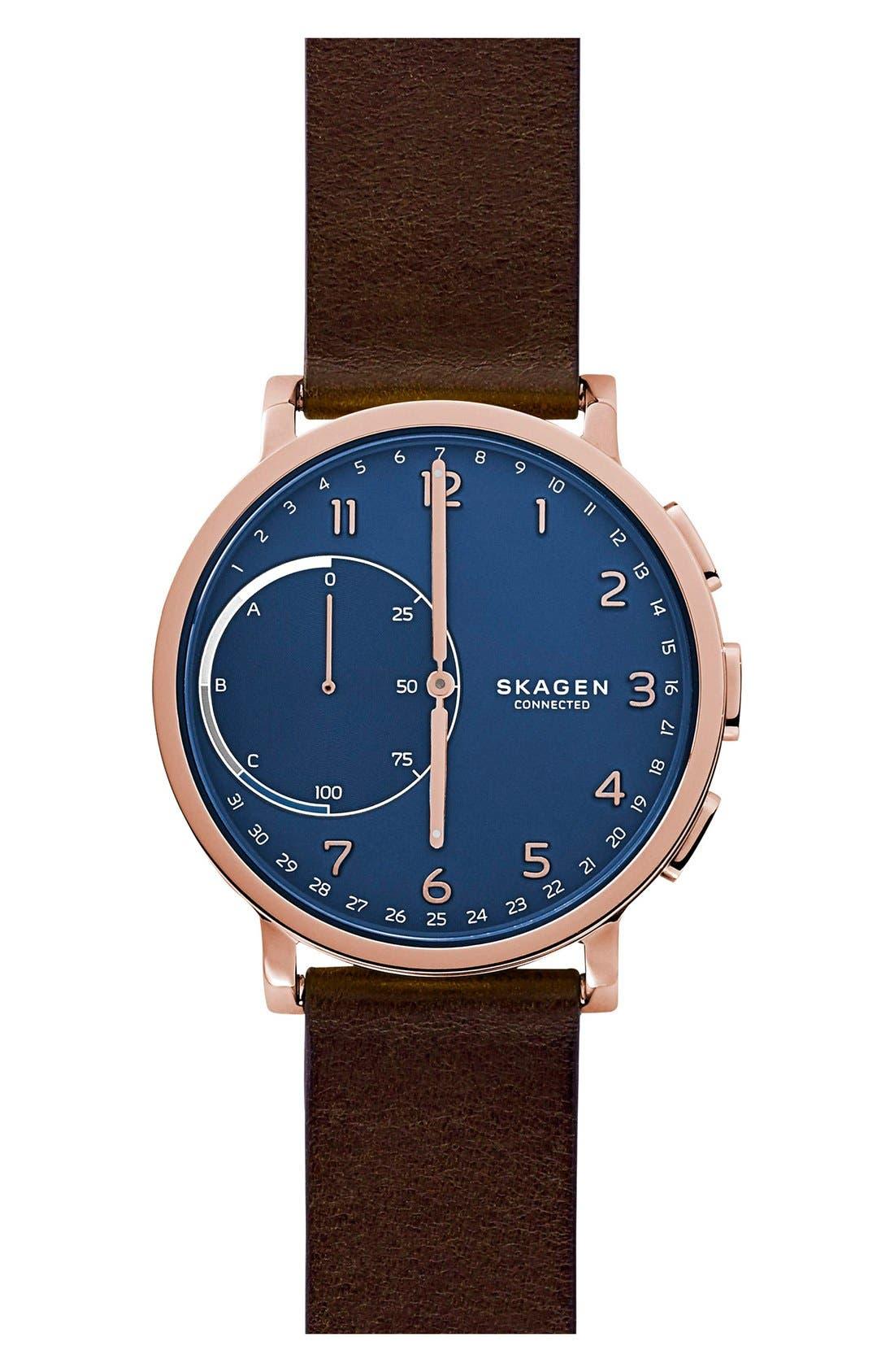Skagen Hagen Connected Hybrid Smart Watch, 42mm