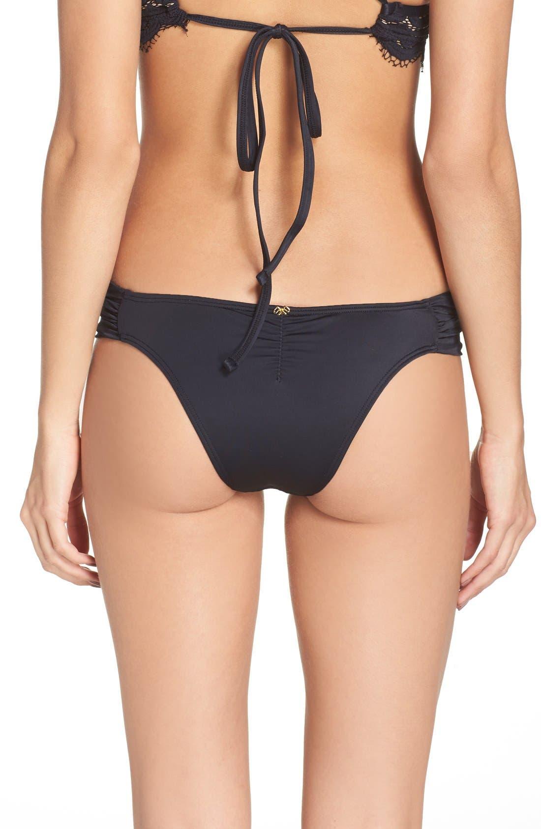 Alternate Image 2  - PilyQ Lace Bikini Bottoms