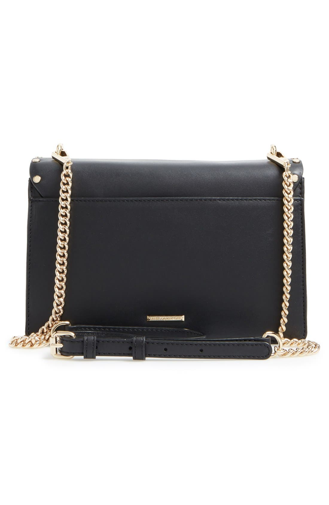 Alternate Image 3  - Rebecca Minkoff Medium Biker Leather Shoulder Bag