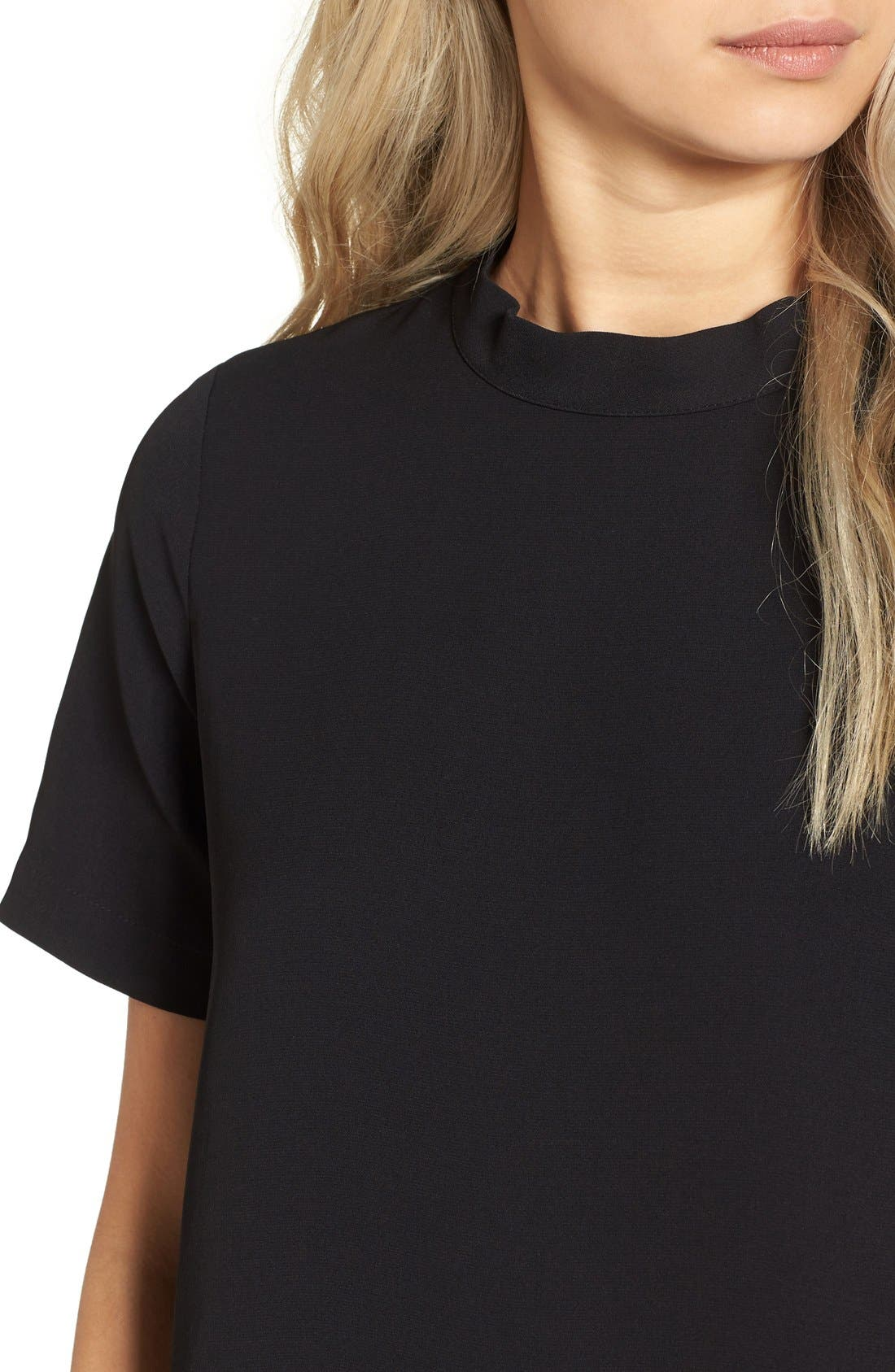 Alternate Image 4  - Madewell Back Button Crepe Tee