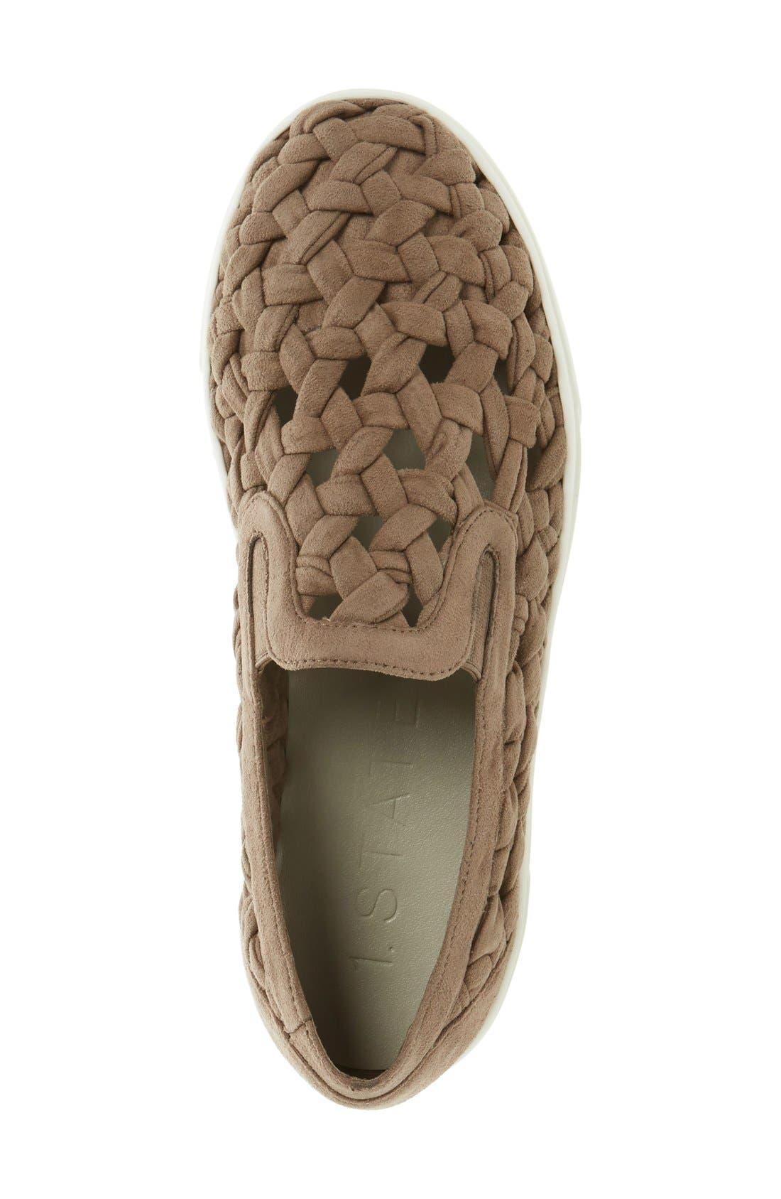 Alternate Image 3  - 1.STATE Delphin Braided Slip-On Sneaker (Women)