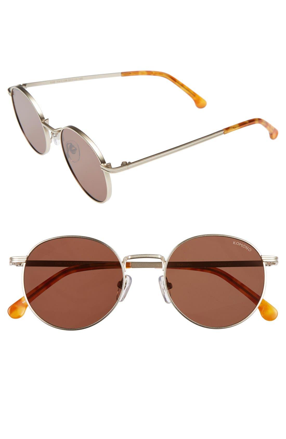 Main Image - Komono Taylor 50mm Sunglasses
