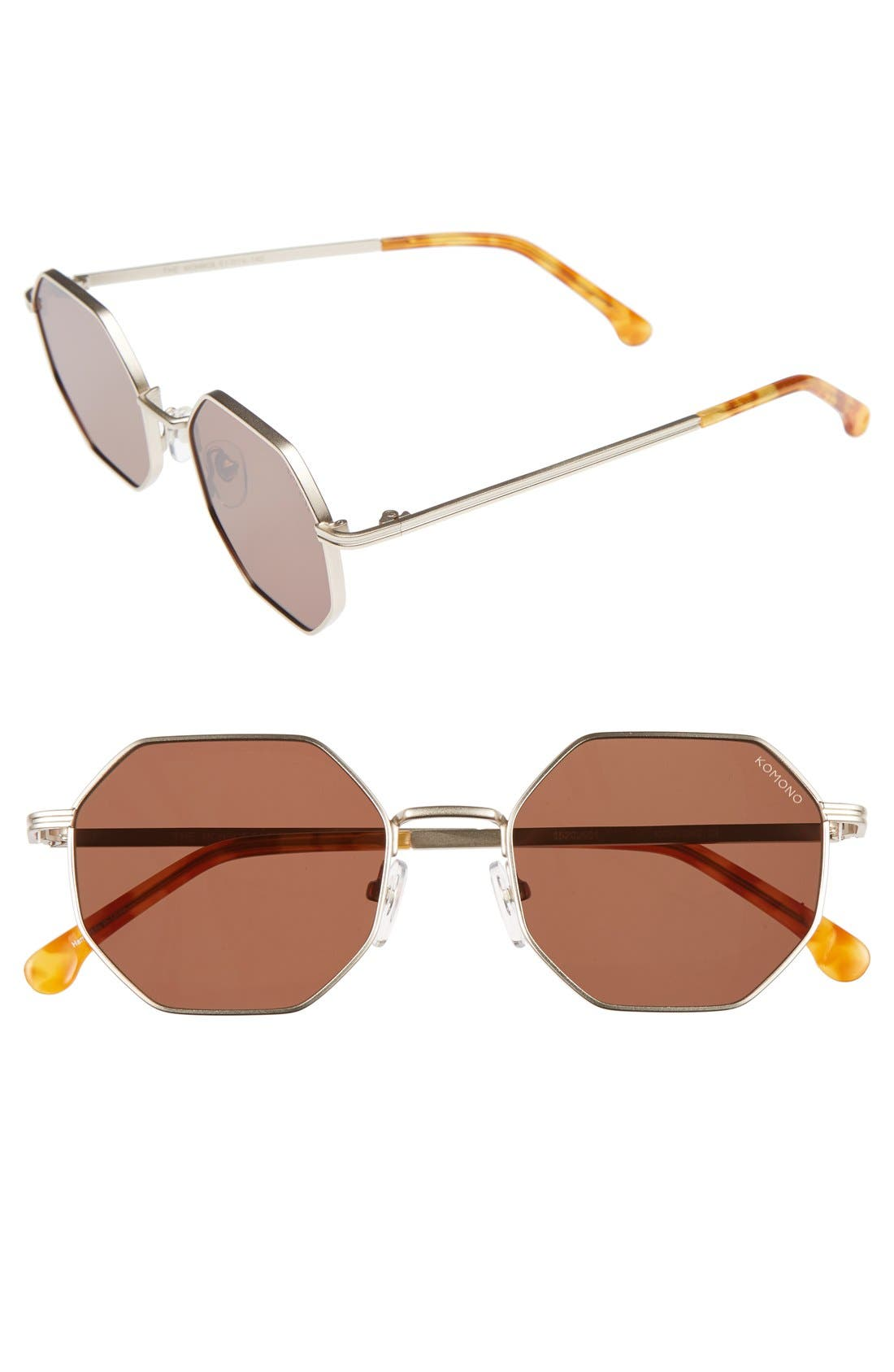 Alternate Image 1 Selected - Komono Monroe 51mm Sunglasses