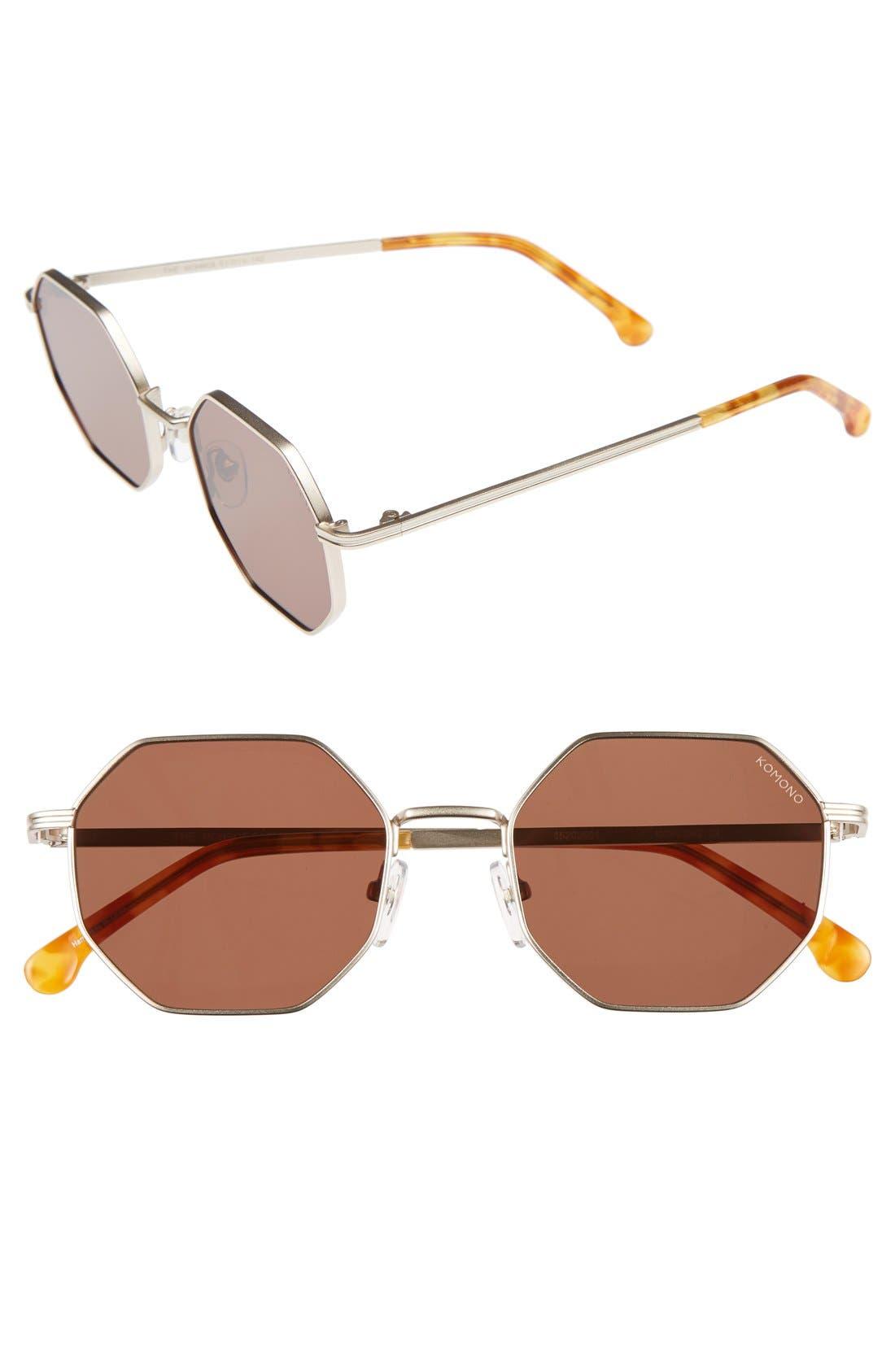 Main Image - Komono Monroe 51mm Sunglasses