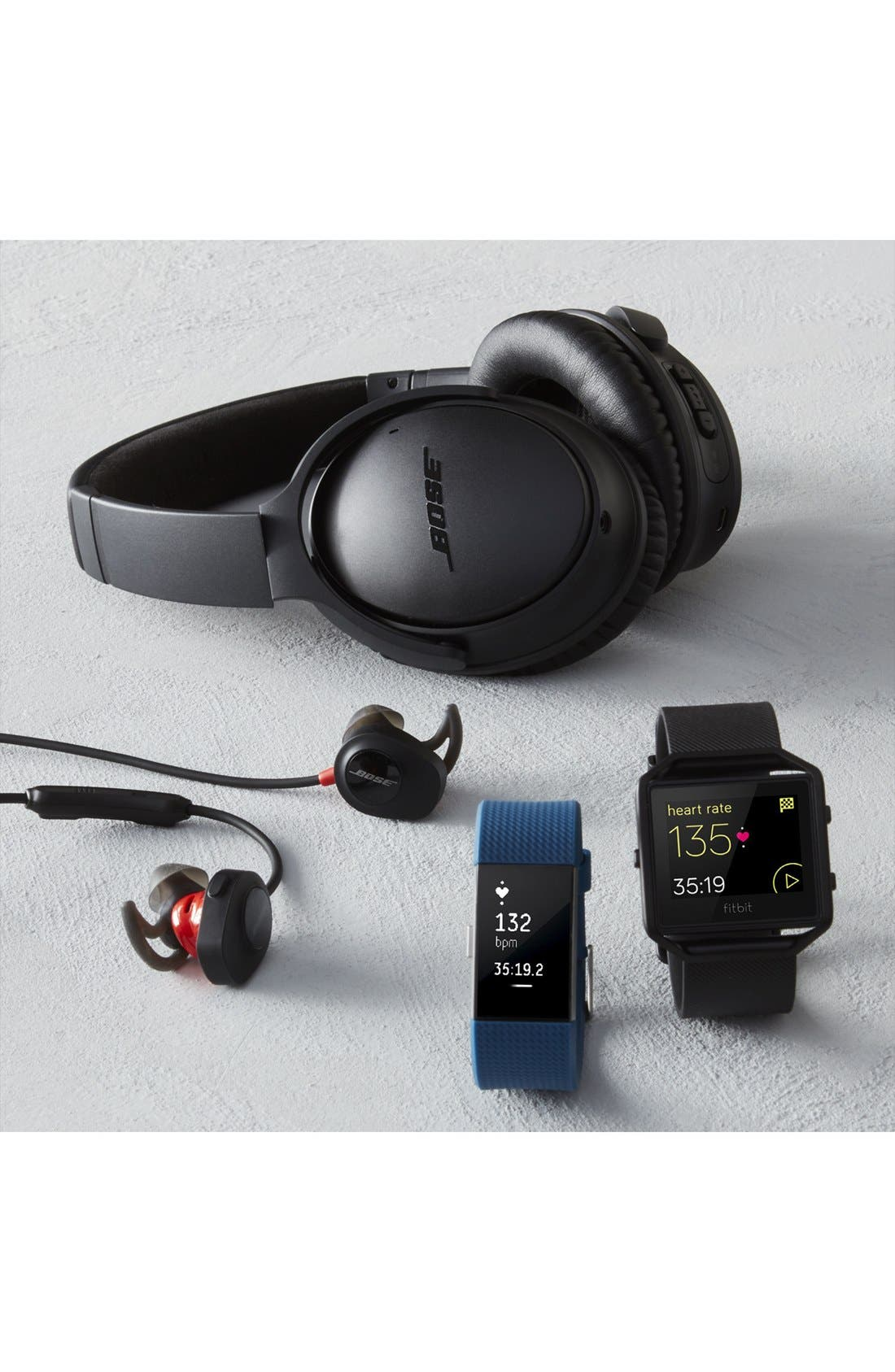 Alternate Image 8  - Bose® QuietComfort® 35 Acoustic Noise Cancelling® Bluetooth® Headphones