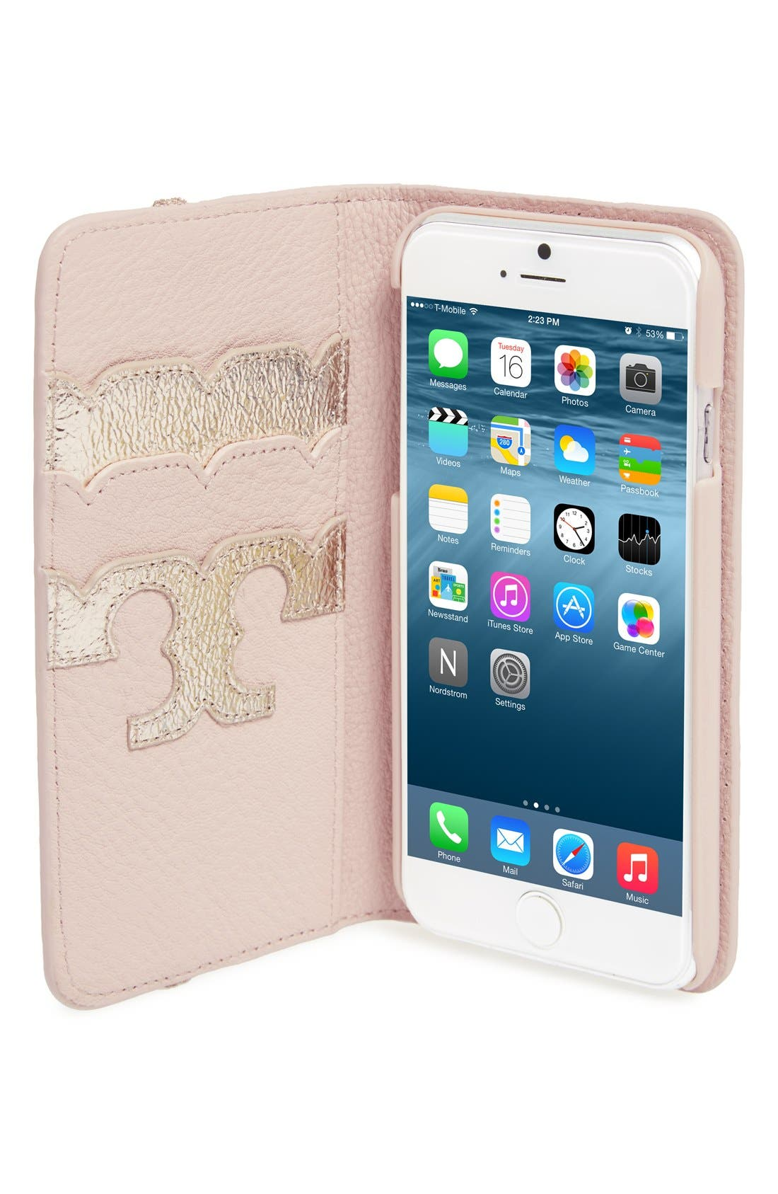 Alternate Image 2  - Tory Burch iPhone 6/6s Folio