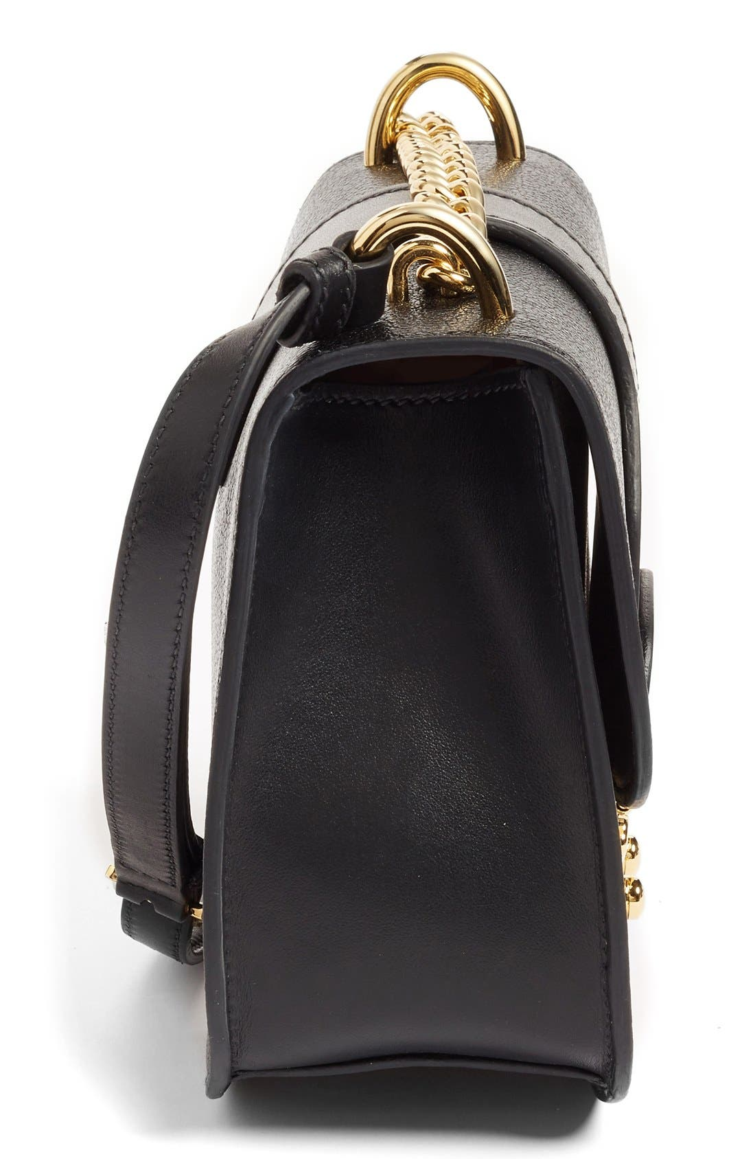 Alternate Image 5  - Miu Miu Madras Leather Crossbody Bag