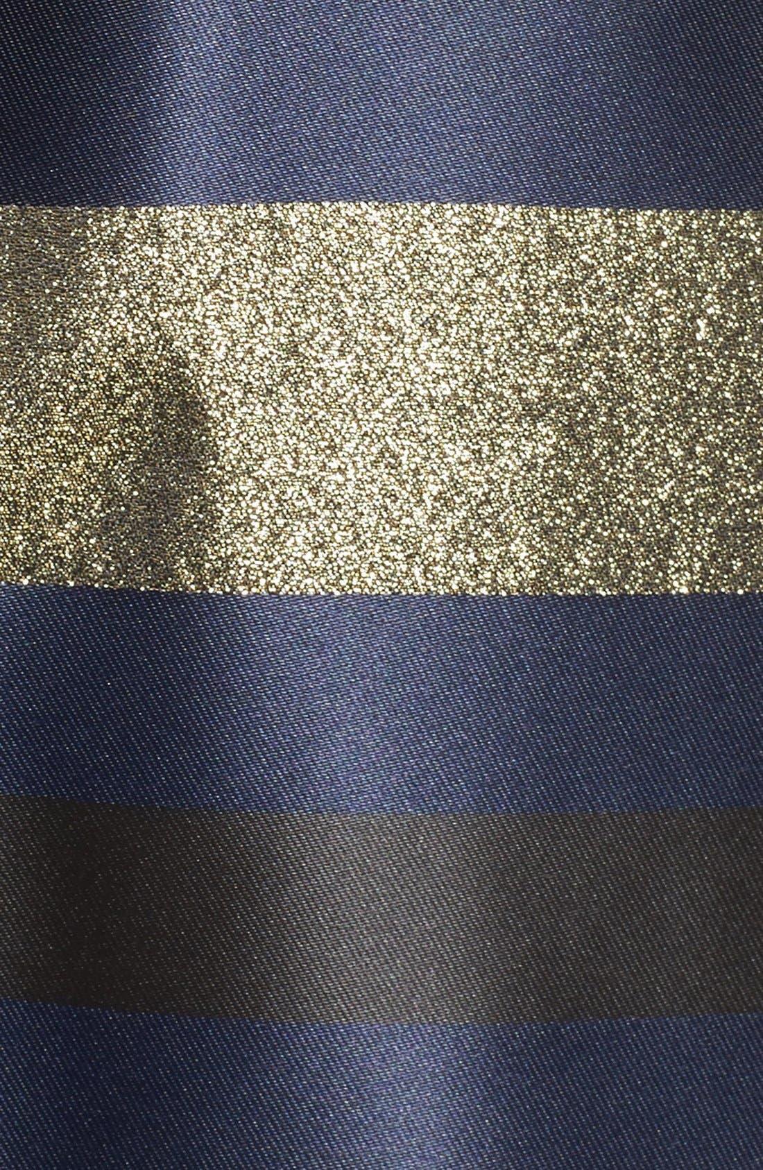 Alternate Image 5  - Xscape Metallic Ballgown (Regular & Petite)