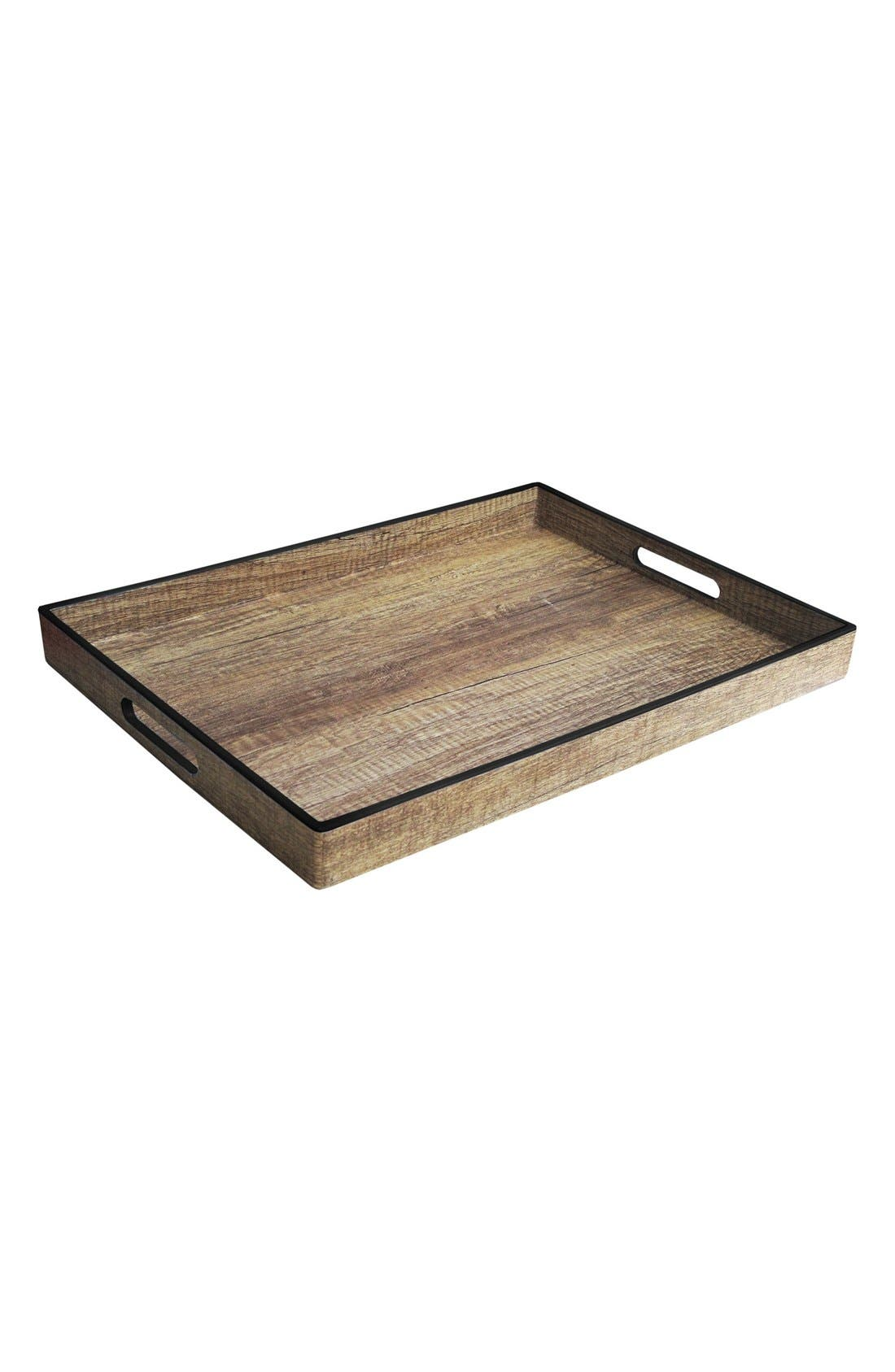Alternate Image 1 Selected - American Atelier Poplar Finish Tray