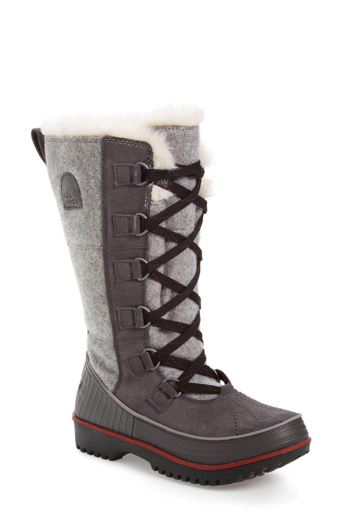 'Tivoli High II' Boot,                             Main thumbnail 1, color,                             Dark Grey