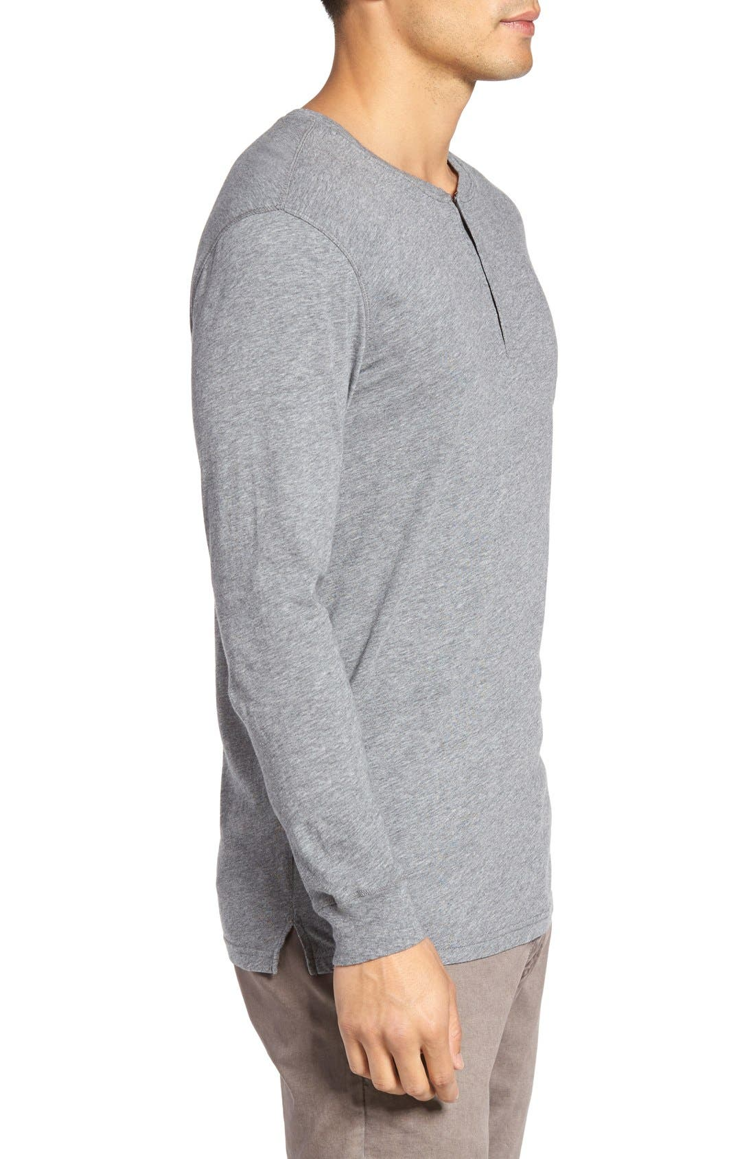 Alternate Image 3  - Slate & Stone Button Henley