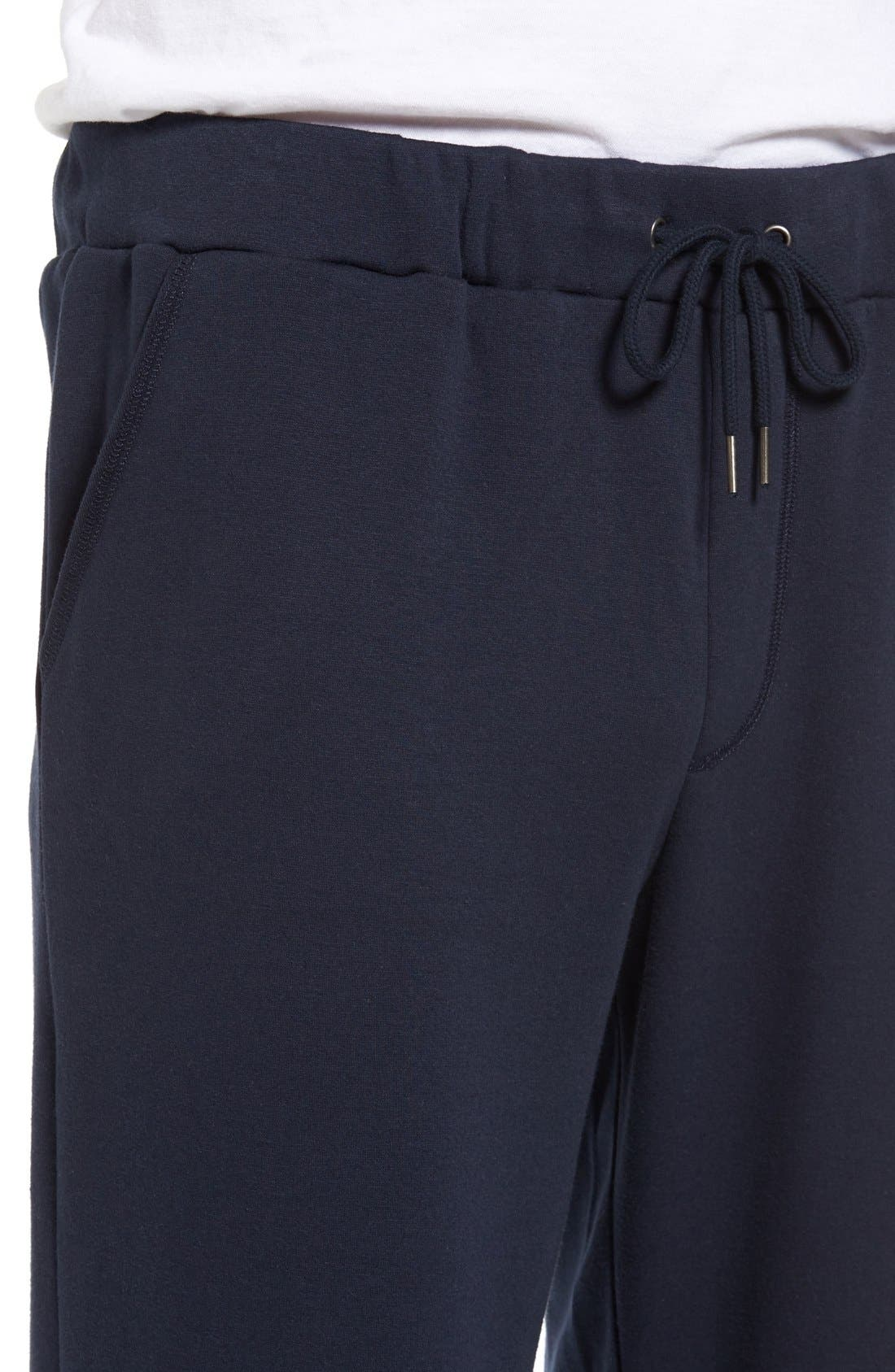 Alternate Image 4  - Nordstrom Men's Shop Fleece Lounge Pants