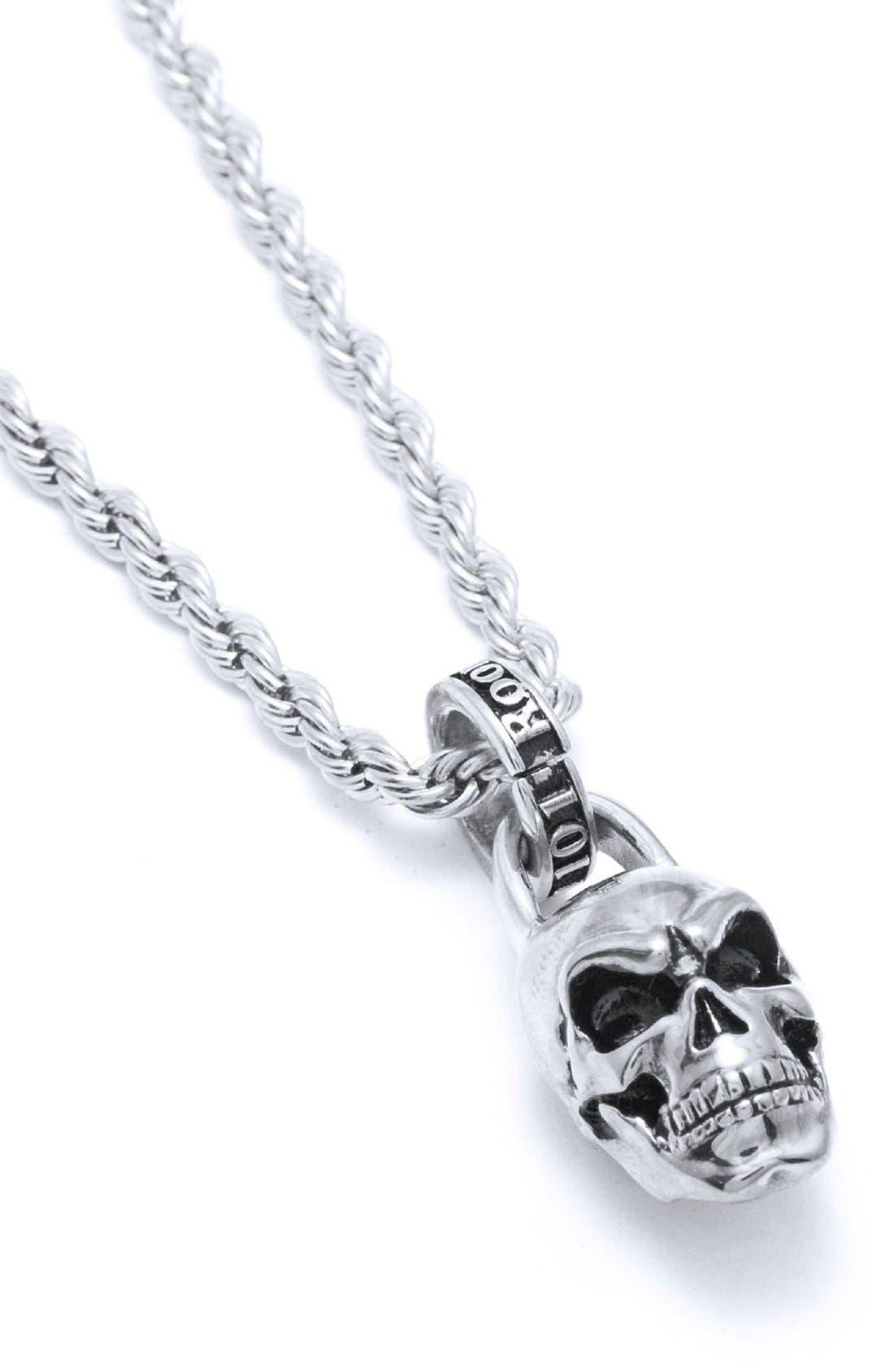 ROOM101 Skull Pendant Necklace