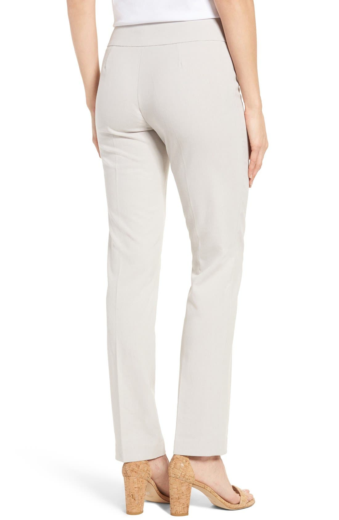 Alternate Image 2  - NIC+ZOE Stretch Knit Slim Leg Pants
